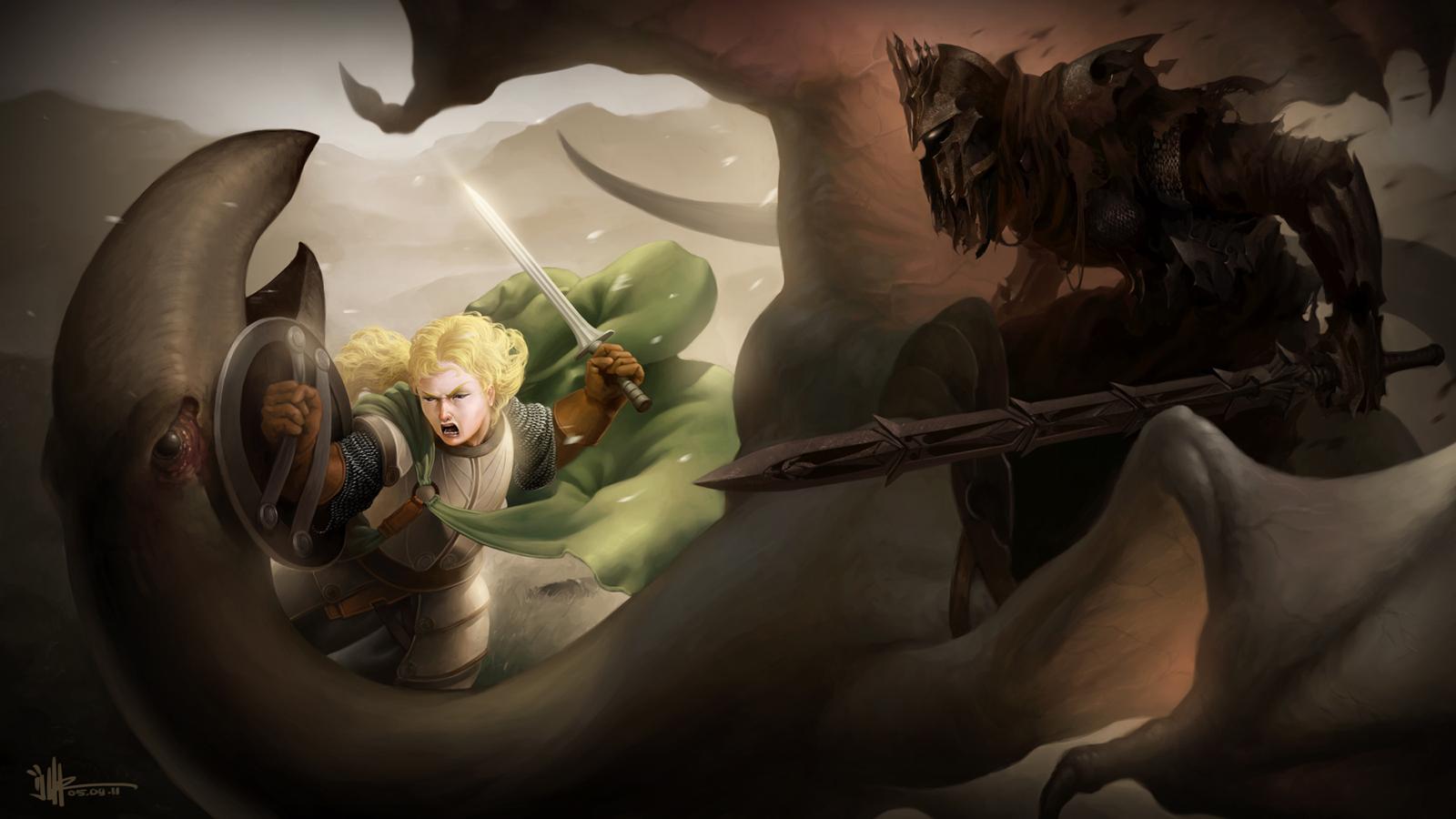 The Nazgul vd Eowyn