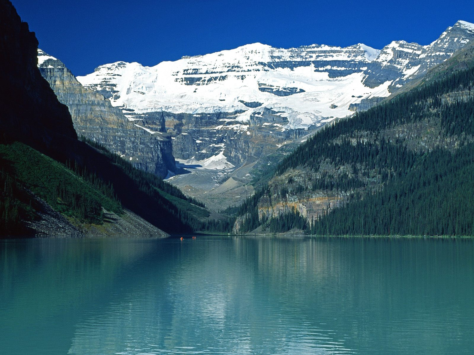 Lake Louise, Canadian Rockies desktop wallpaper