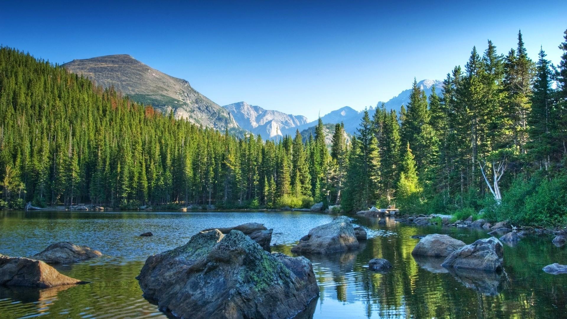 The Rockies Wallpaper HD