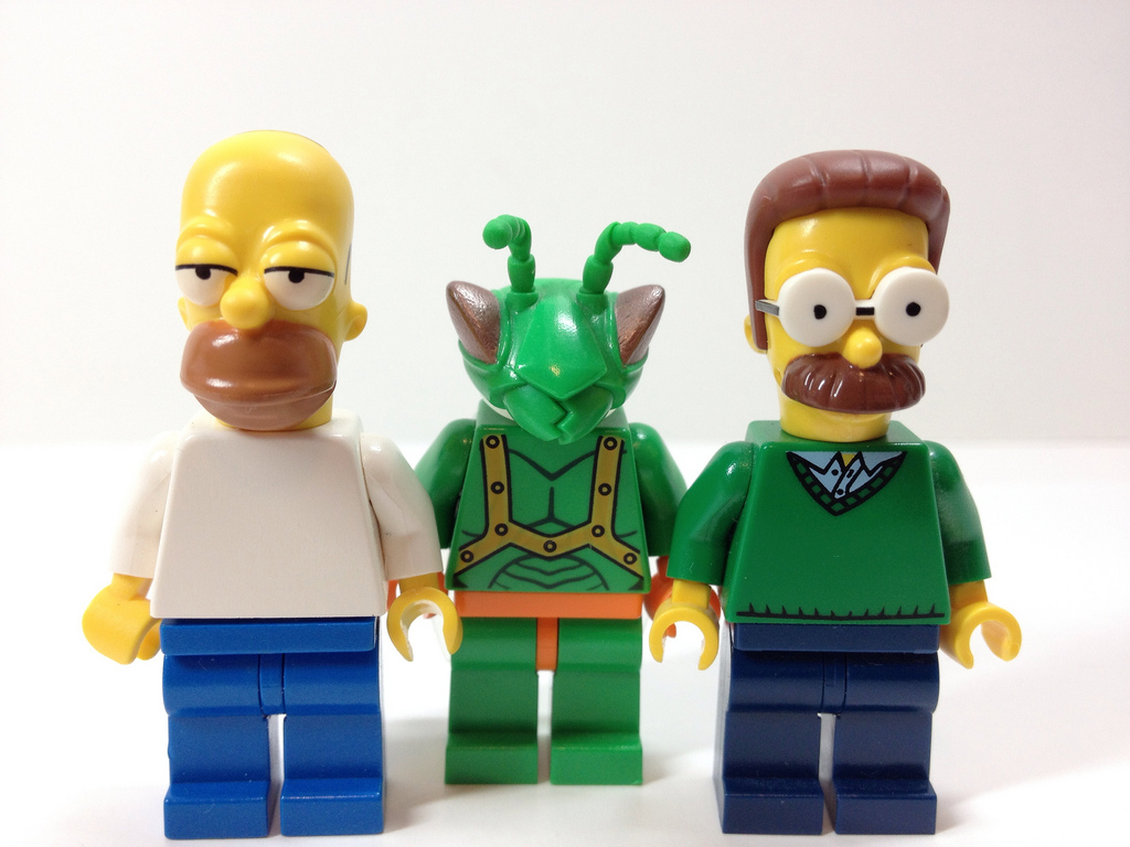 by LEGO Toy Story LEGO The Simpsons: Homer, Ned, and Twitch! | by LEGO Toy Story