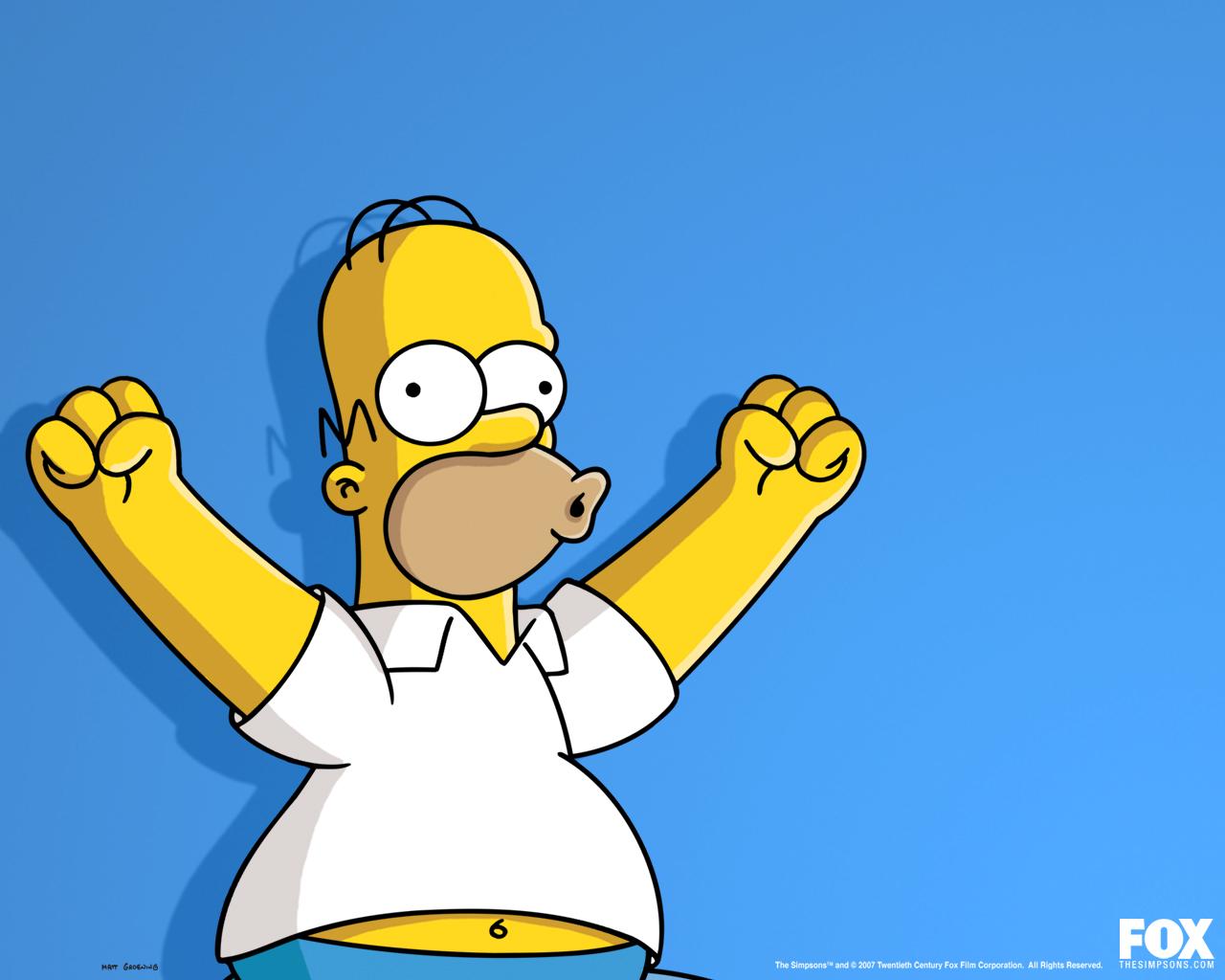 The Simpsons Homer Wallpaper