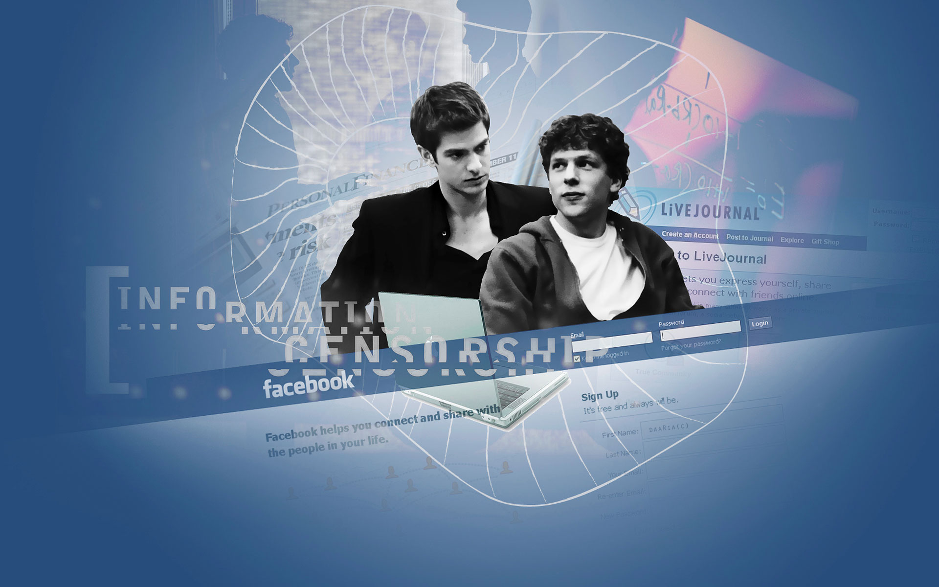The Social Network Wallpaper 33650 2705x1800 px