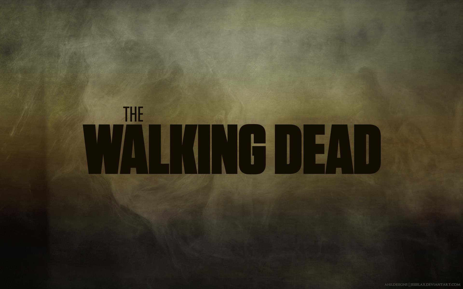 The Walking Dead Poster Art