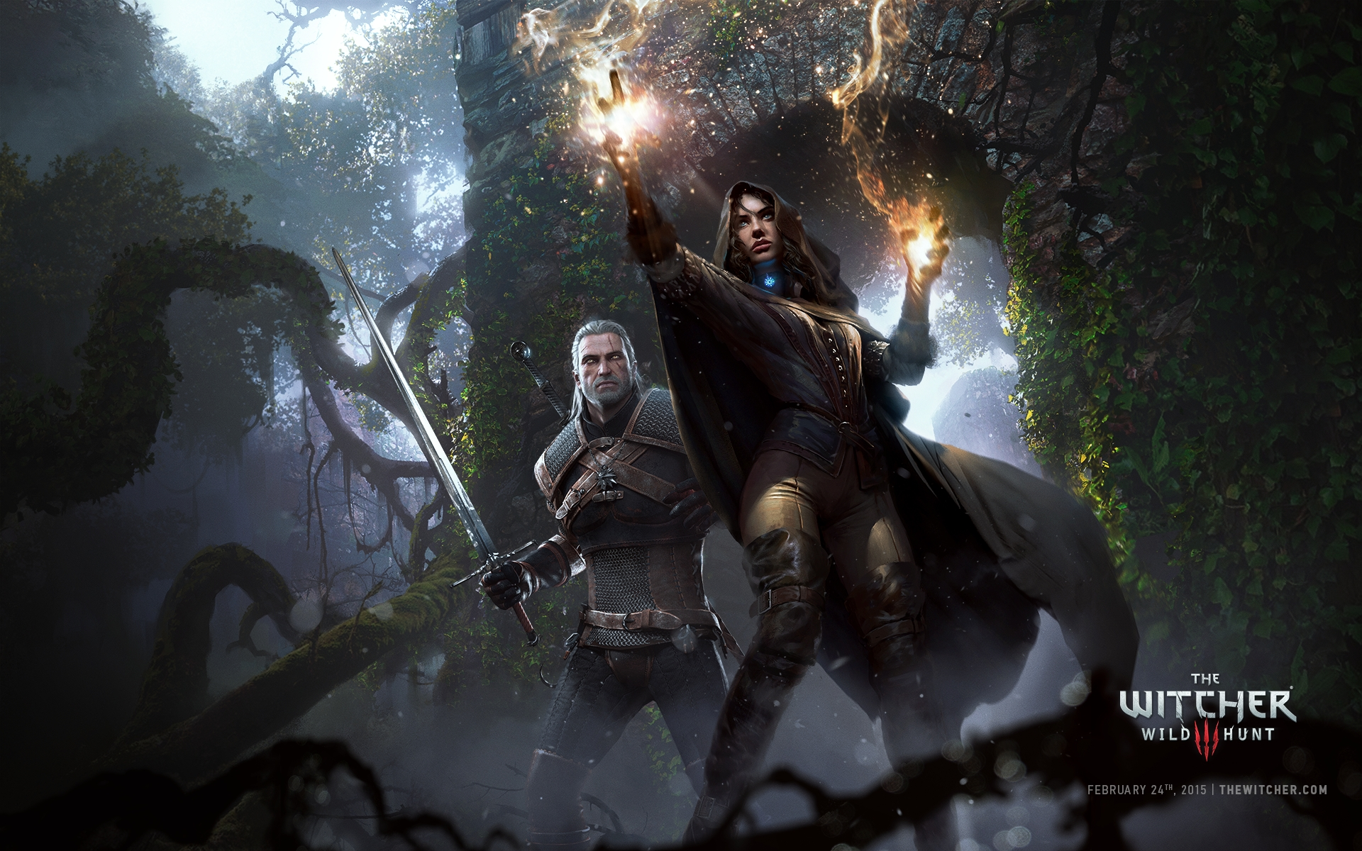 HD Wallpaper | Background ID:546170. 1920x1200 Video Game The Witcher ...