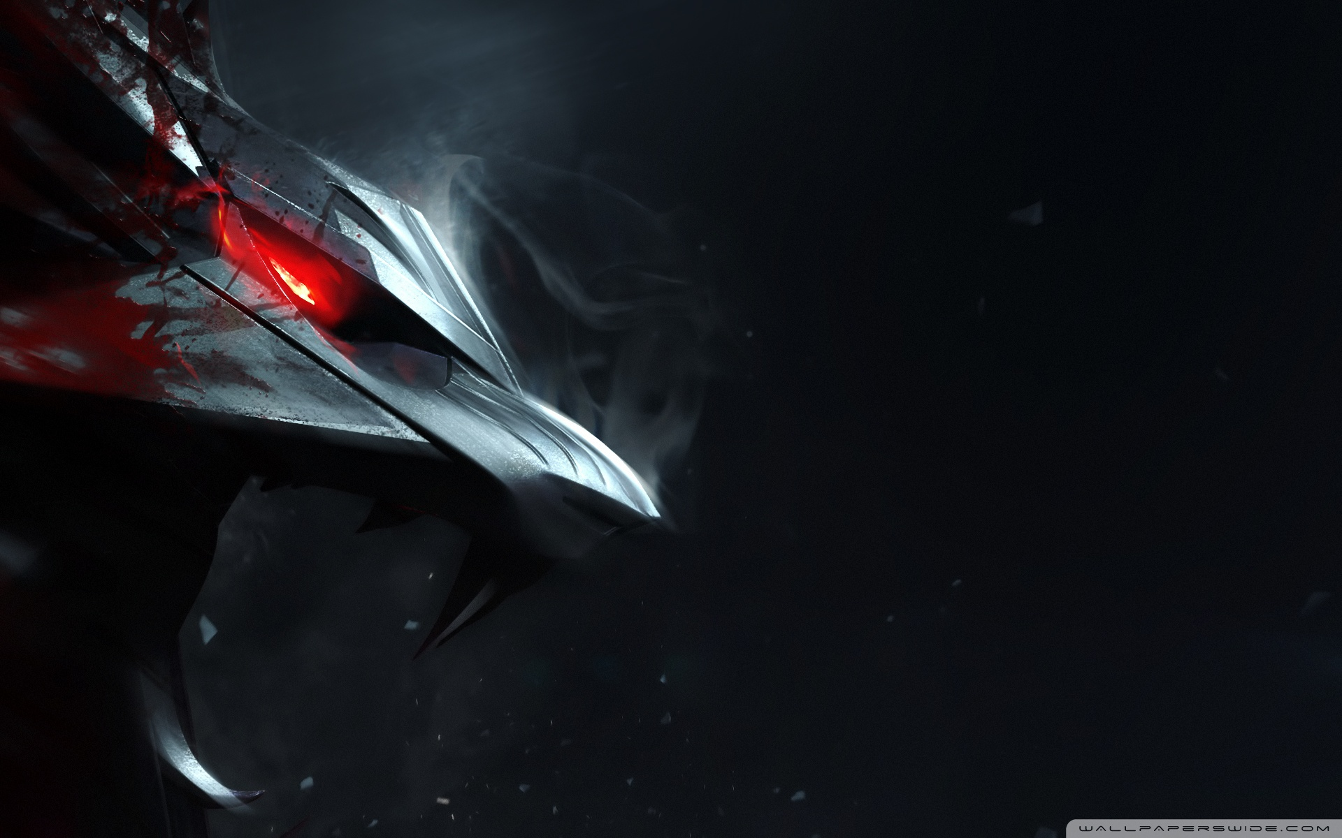 Witcher 3 Wolf HD Wide Wallpaper for Widescreen