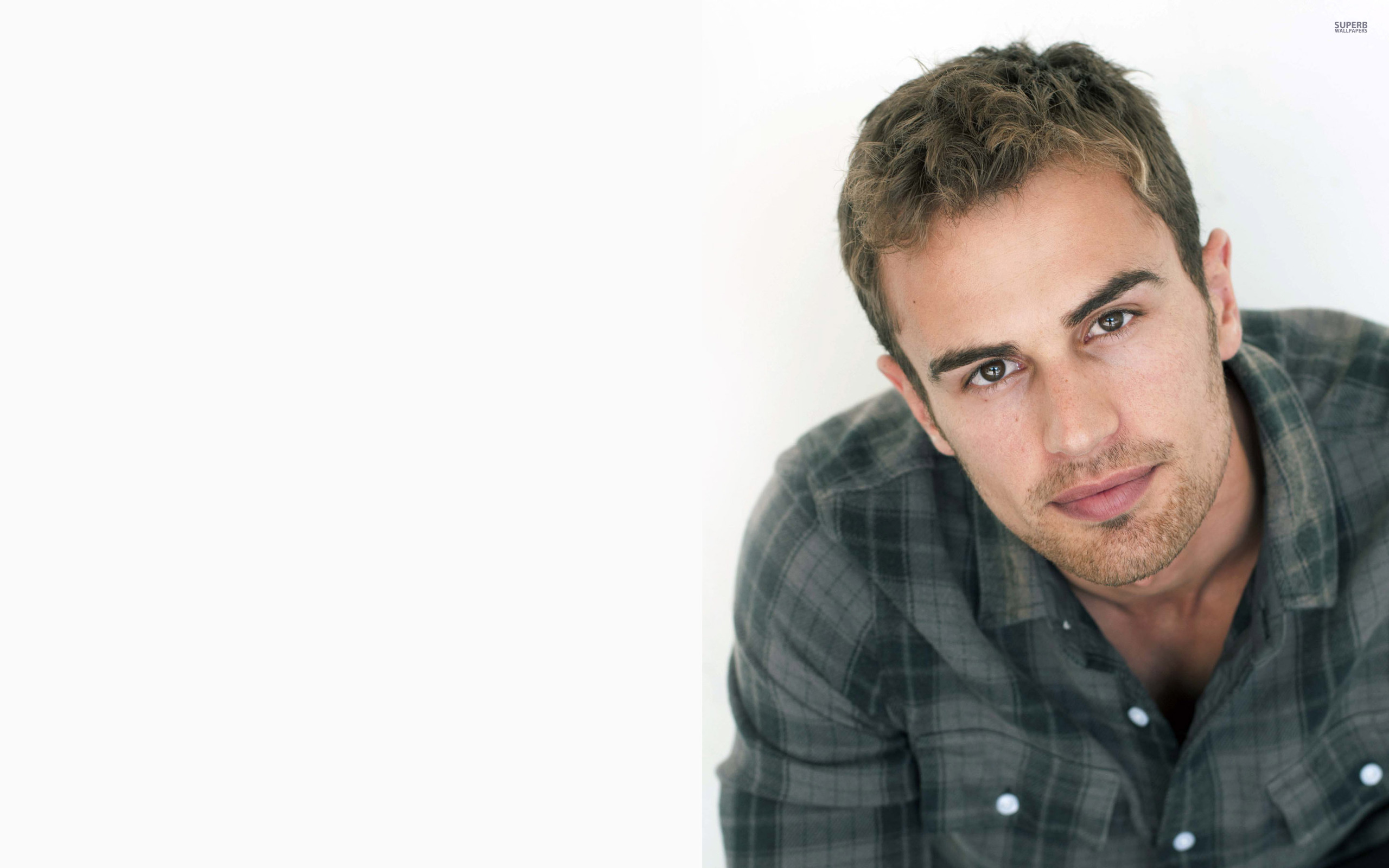 Theo James wallpaper 2560x1600