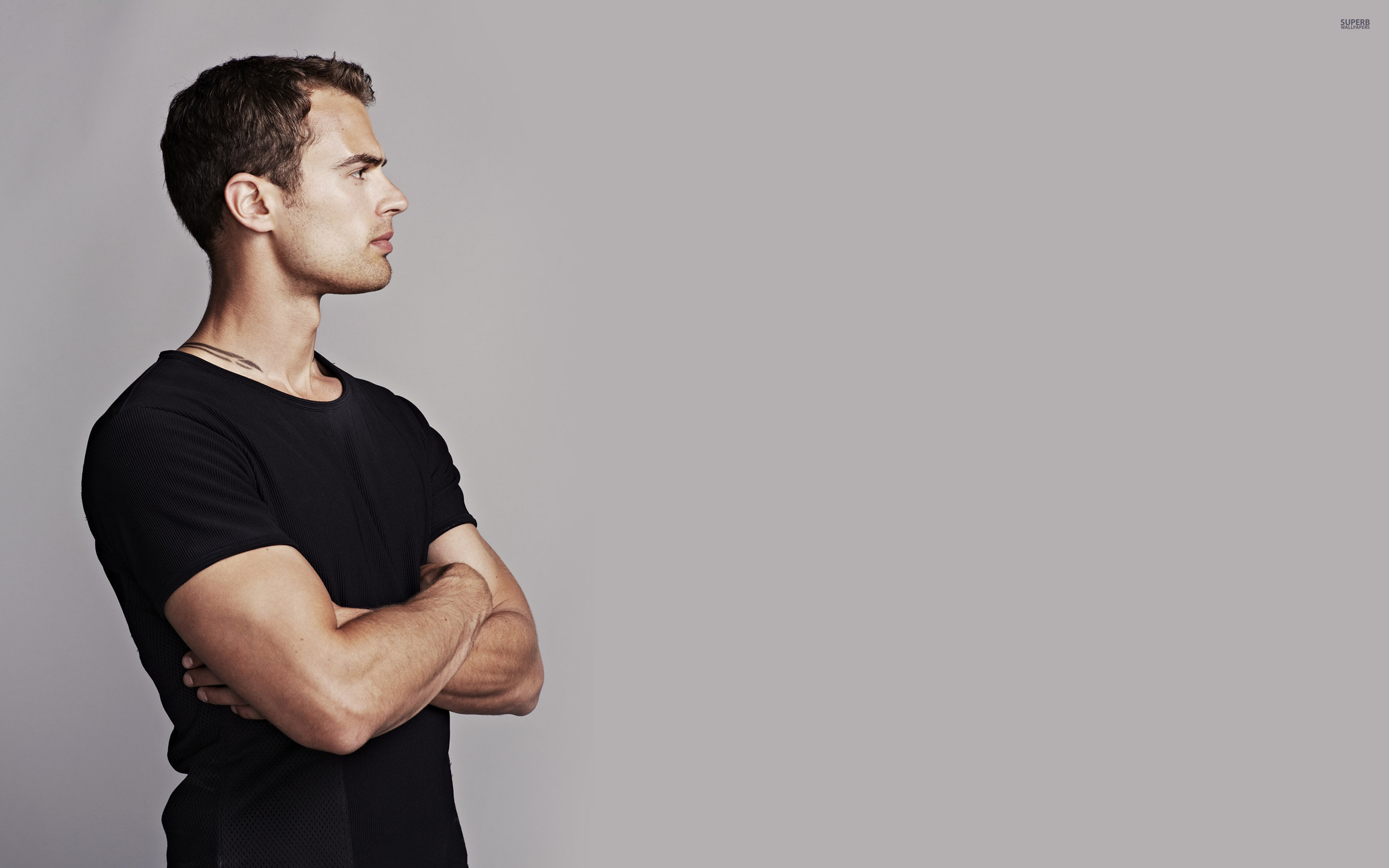 Theo James Wallpaper