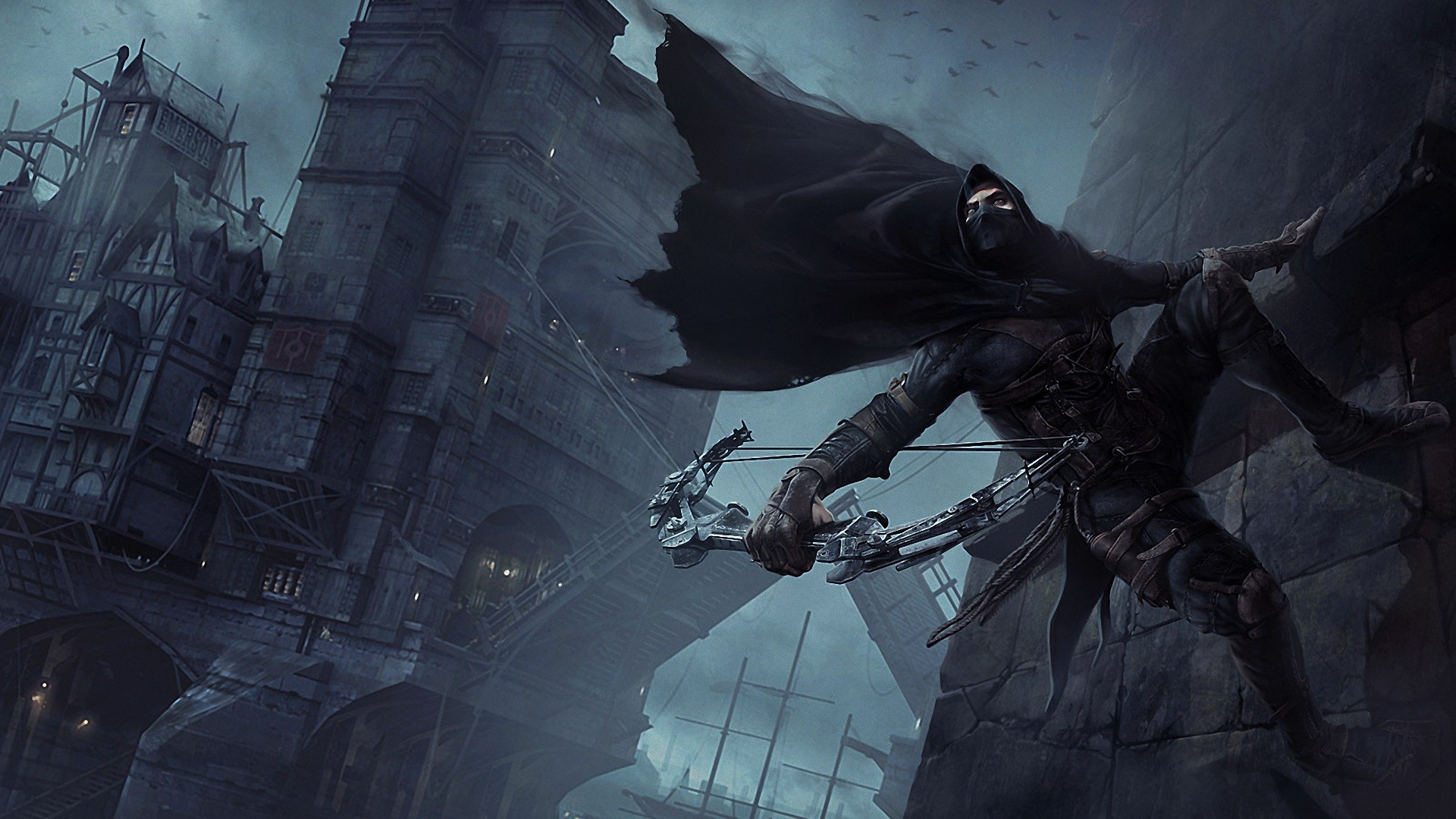 Thief game art