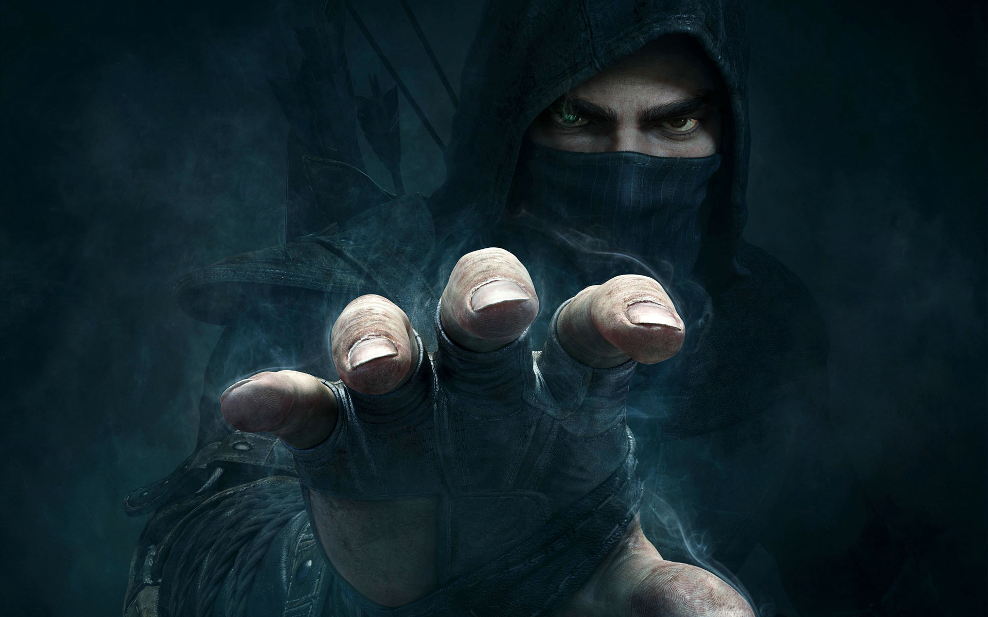 Thief Game Background