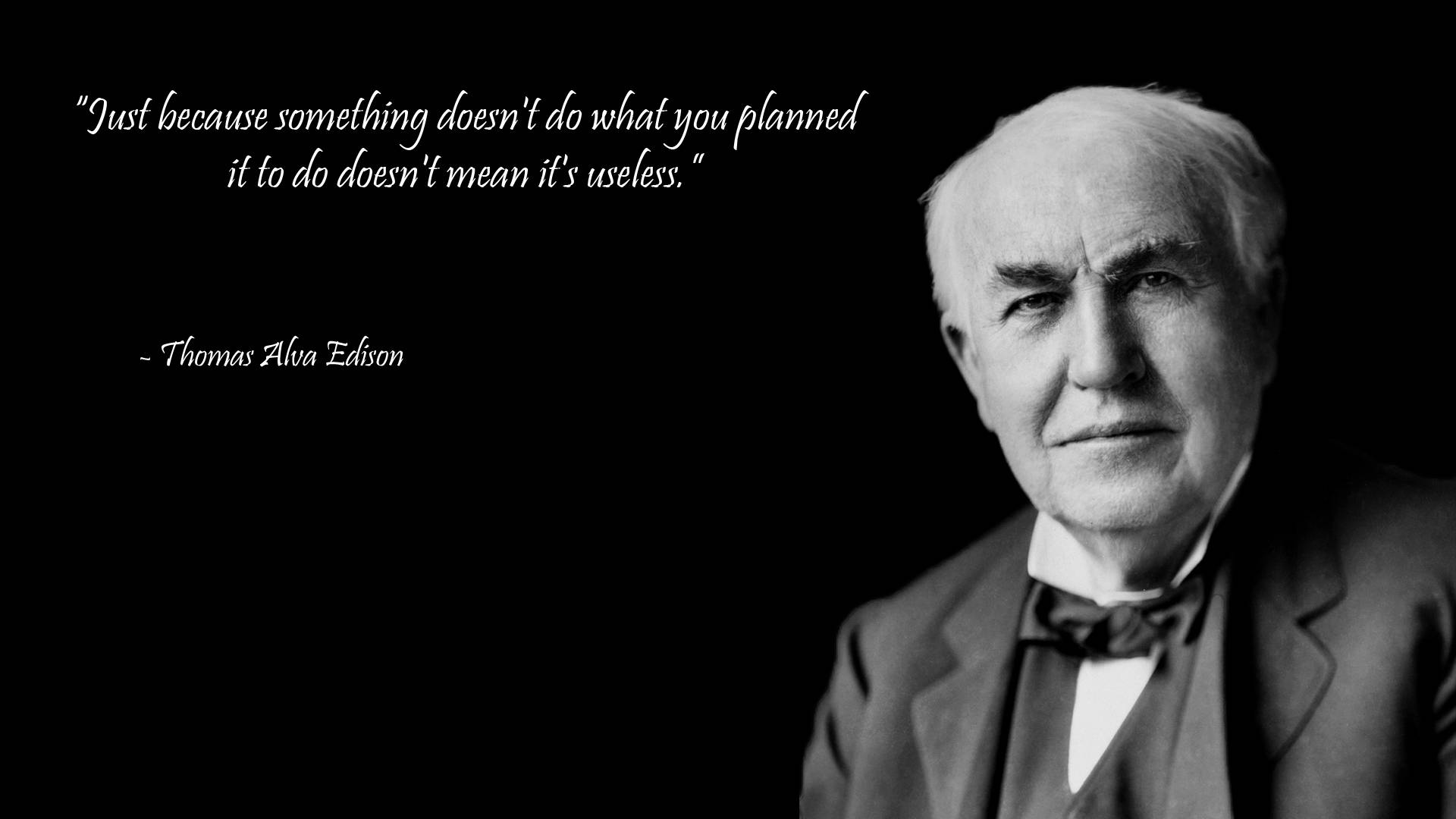 Famous Quotes, Quotes Edison, Thomas Alva, Everyday Inspiration, Thomas Edison I, Affirmations Quotes, Quotes Wallpapers, Edison Quotes, Alva Edison