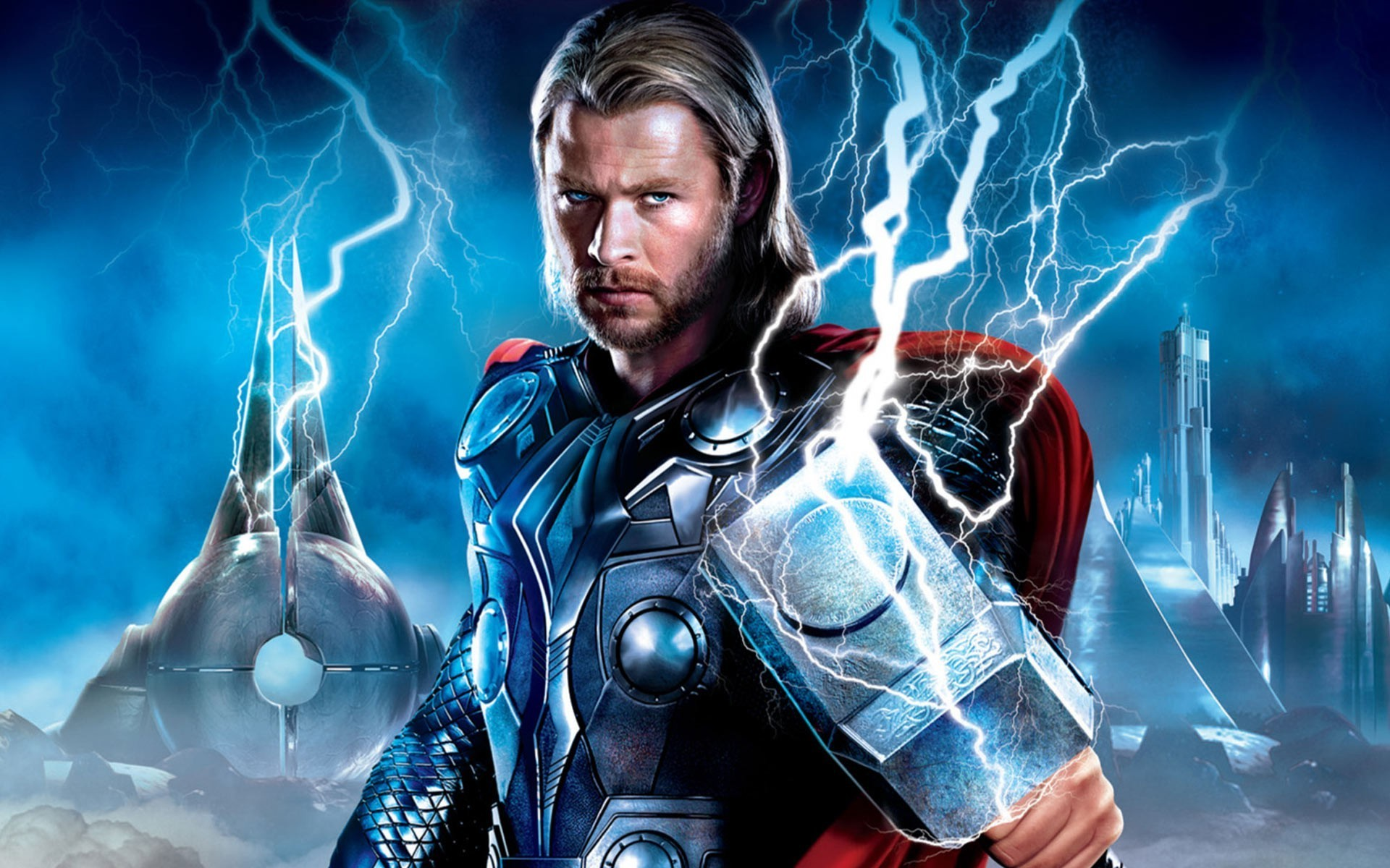3d Thor Movie Hammer Wallpapers Hd: Thor Wallpaper