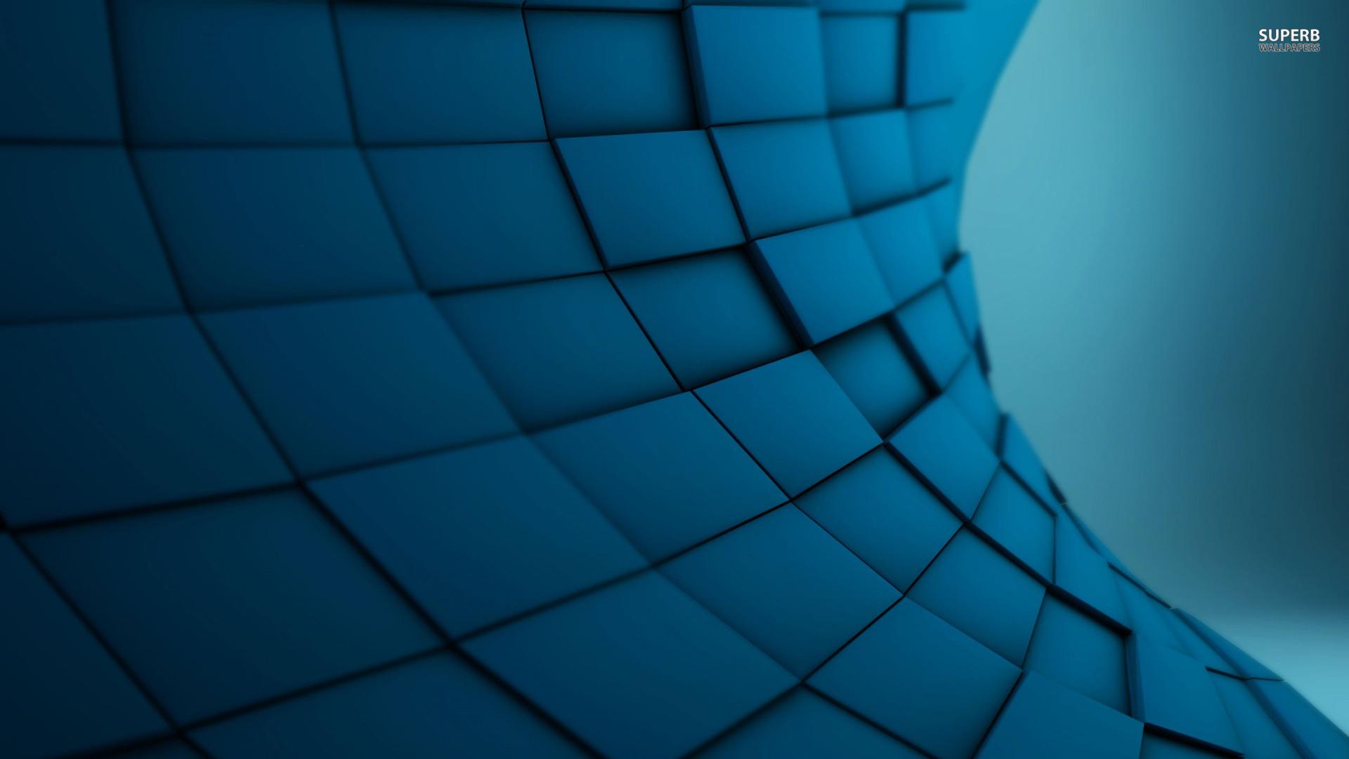 Blue tiles wallpaper 1920x1080