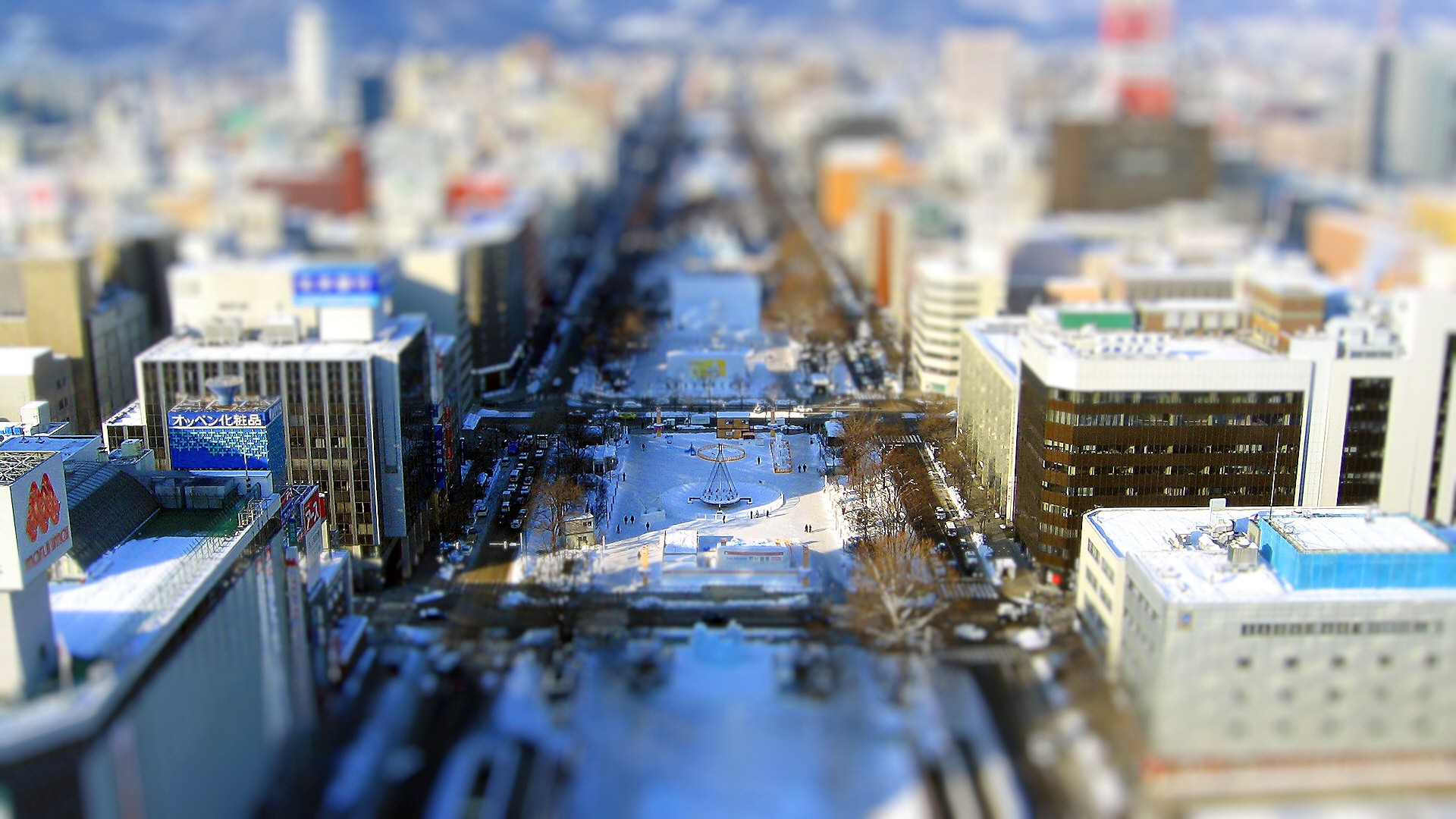 Tilt-shift Photography : Tilt-Shift miniature faking wallpaper 1920x1080第22