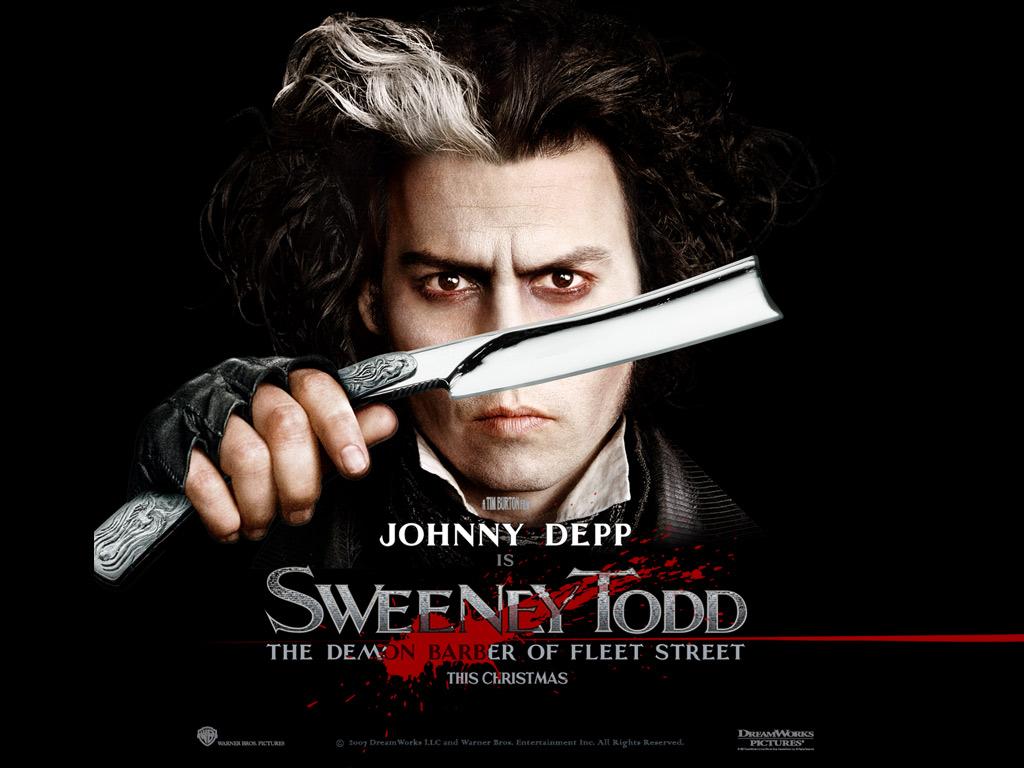 Sweeney Todd - tim-burton Wallpaper
