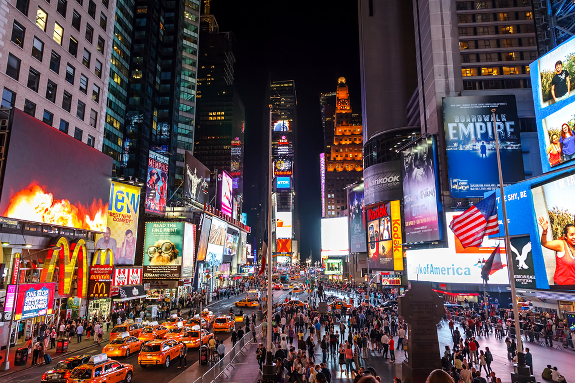 Modal Trigger. City eyeing Times Square ...