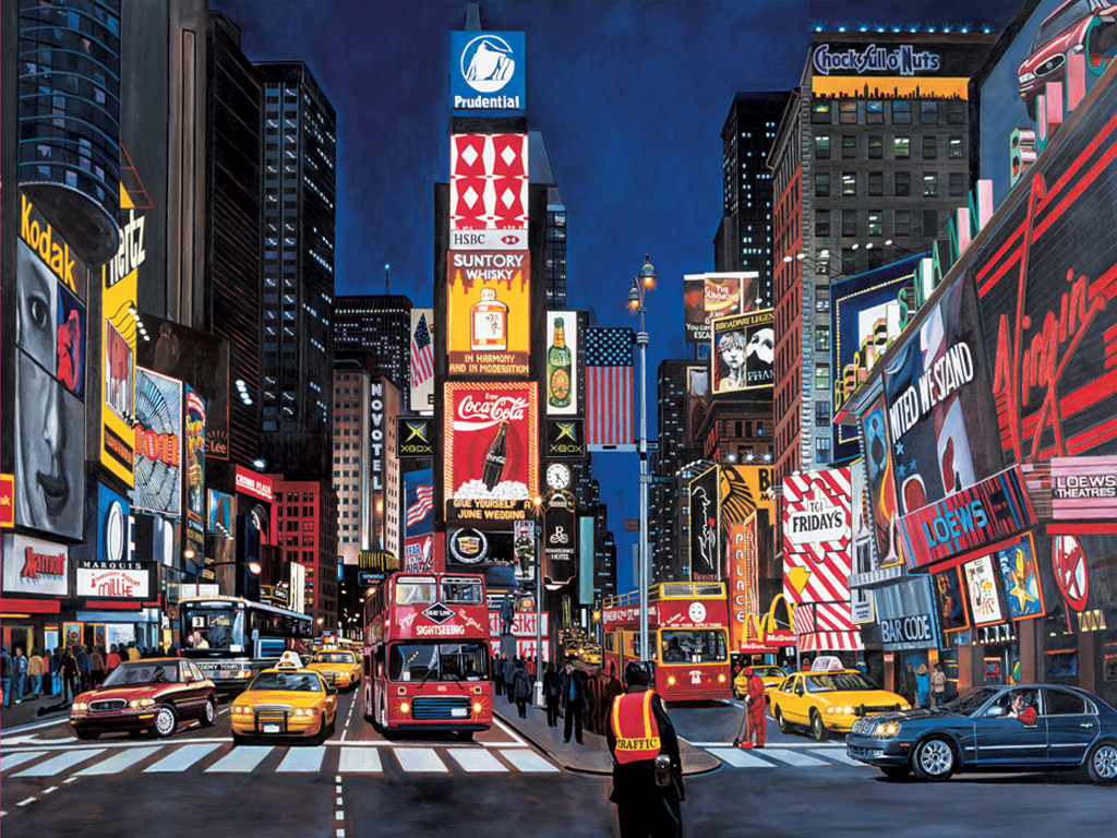 Times Square; Times Square ...
