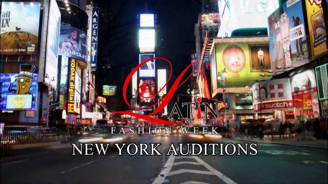 Times Square Fashion Week