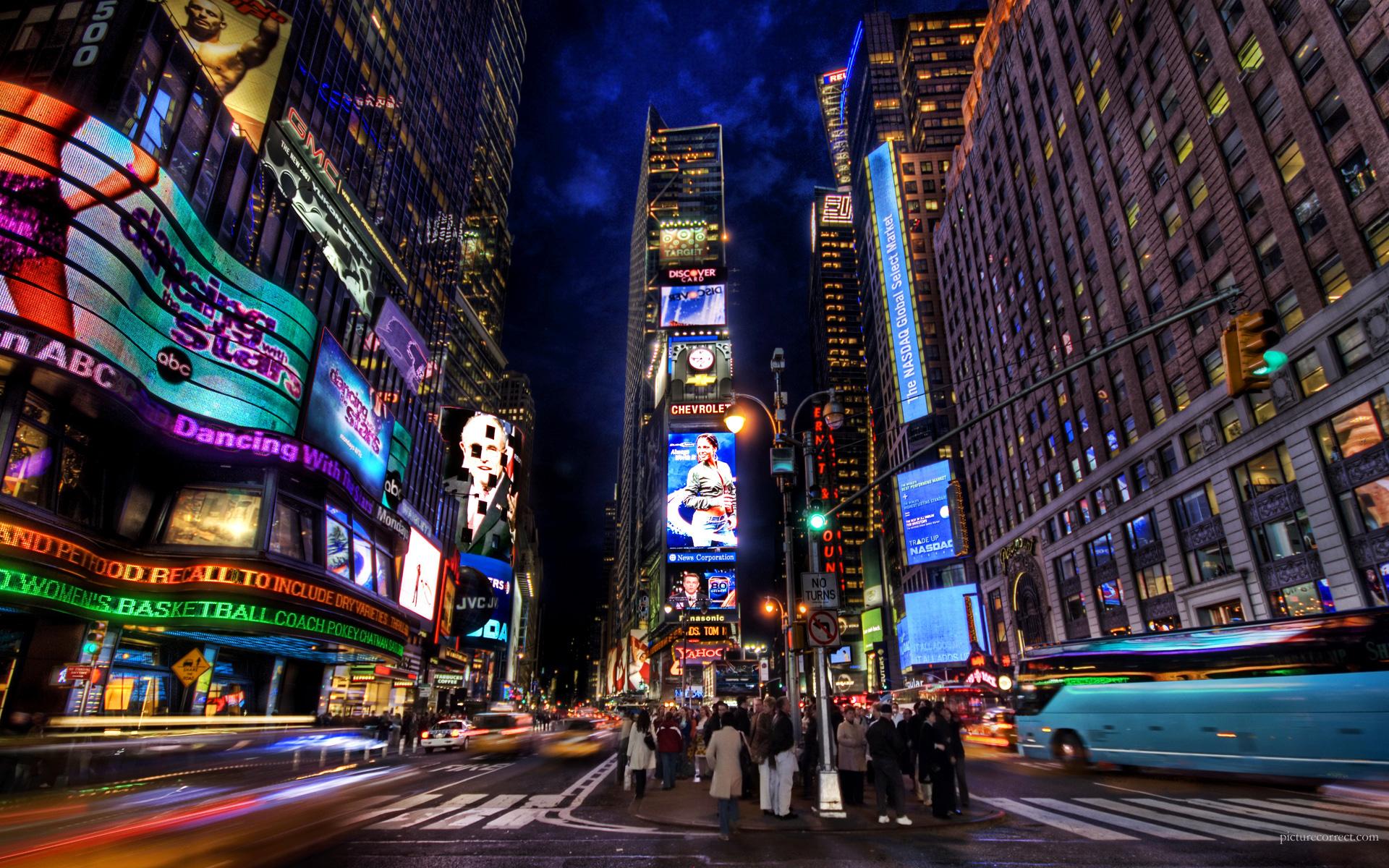 Times Square Wallpaper 002. 1280 x 1024
