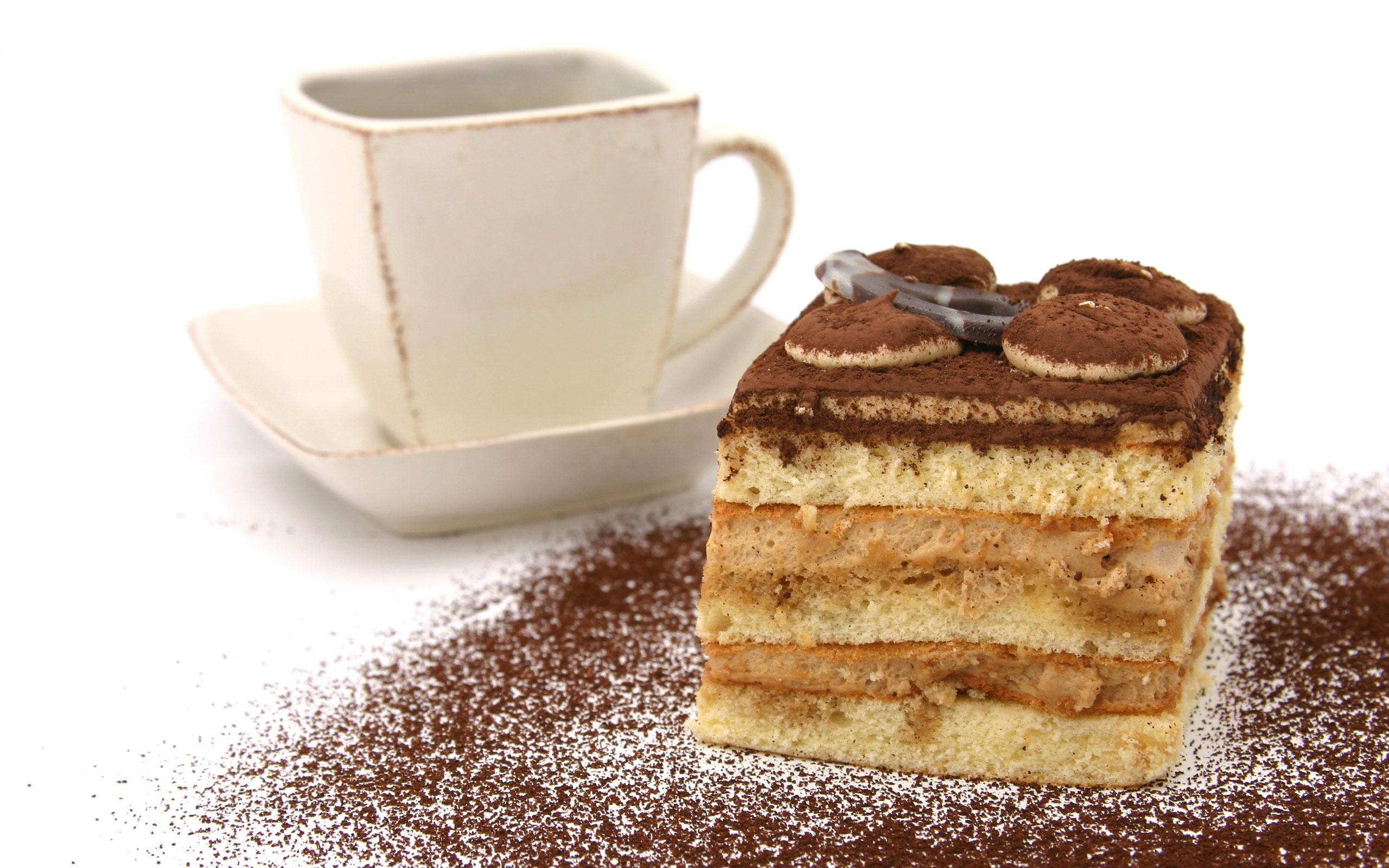 Tiramisu Background