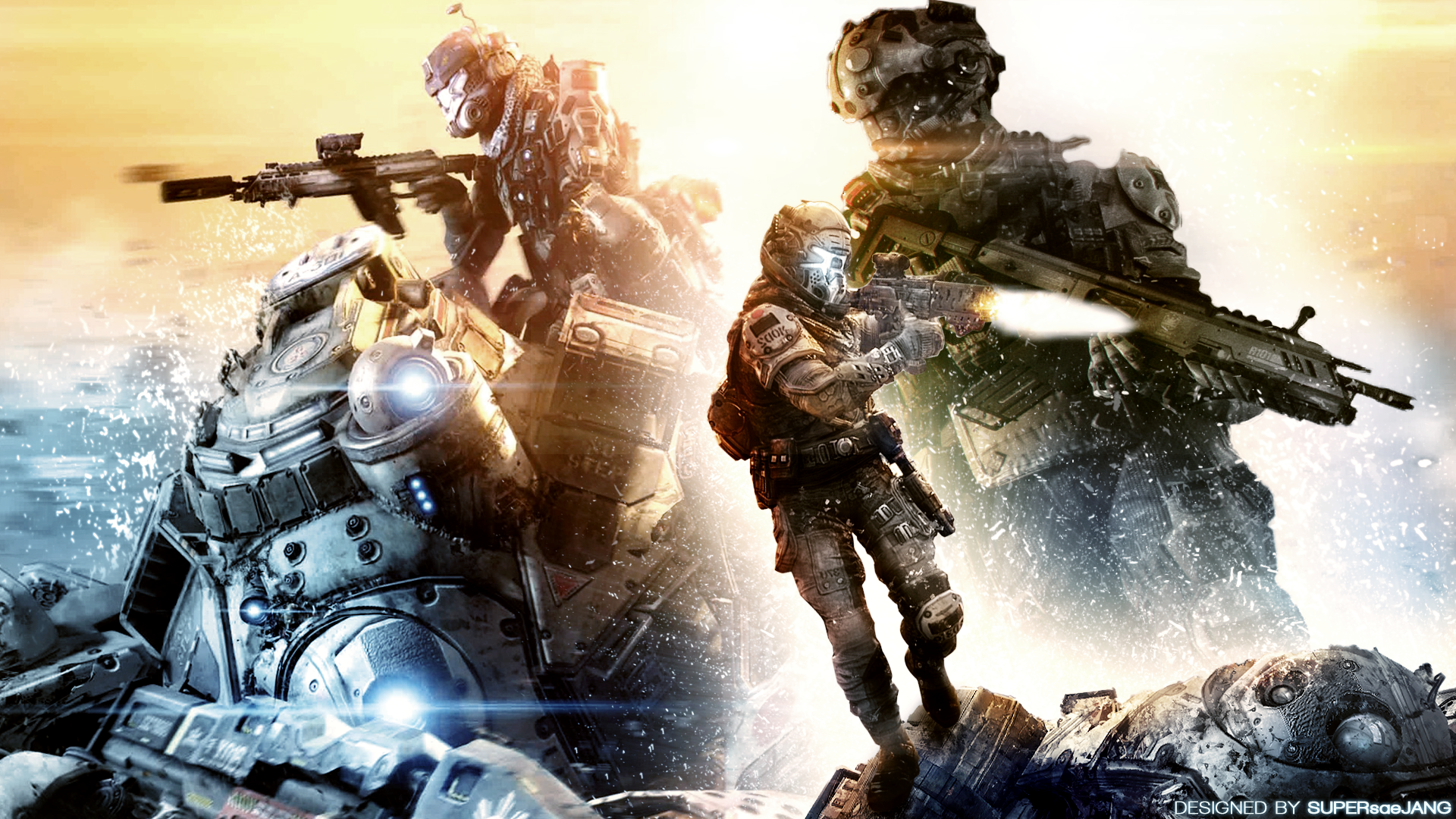 Titanfall Wallpaper by SUPERsaeJANG More Like This