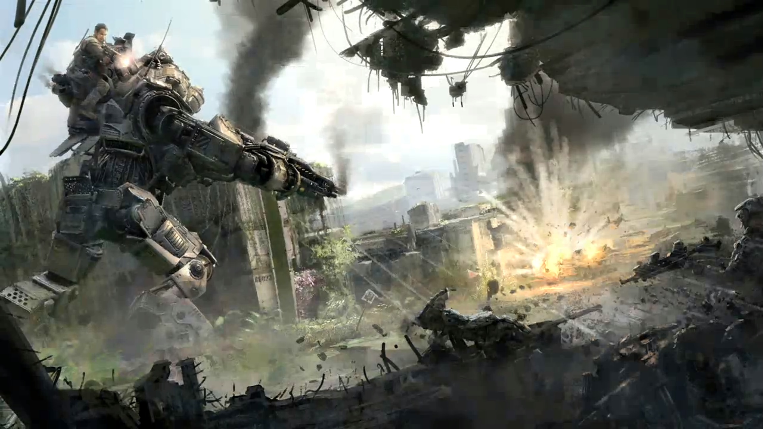 <b>Titanfall Wallpaper 2560x1440</b> - More information on ciuchy