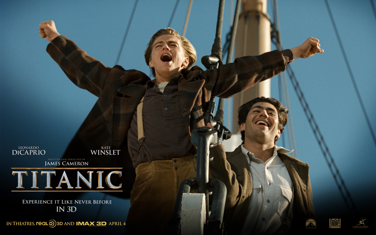 Titanic Titanic 3D Movie Walpapers