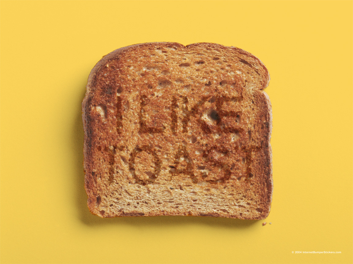 Toast Wallpaper