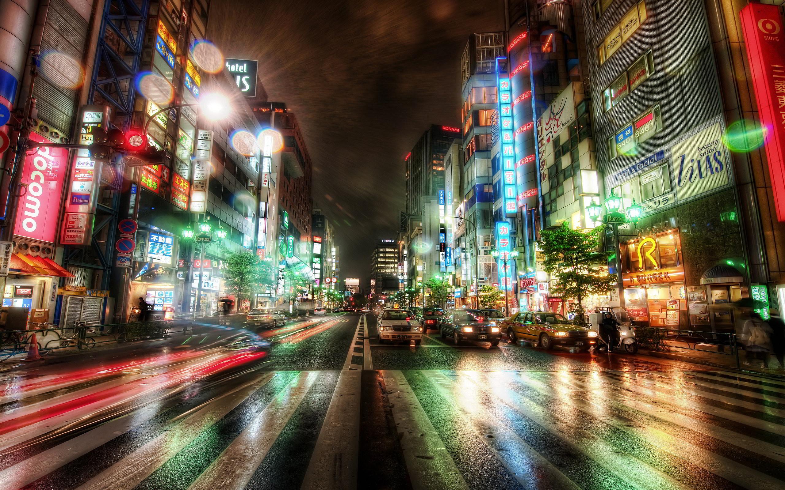 Tokyo City Night