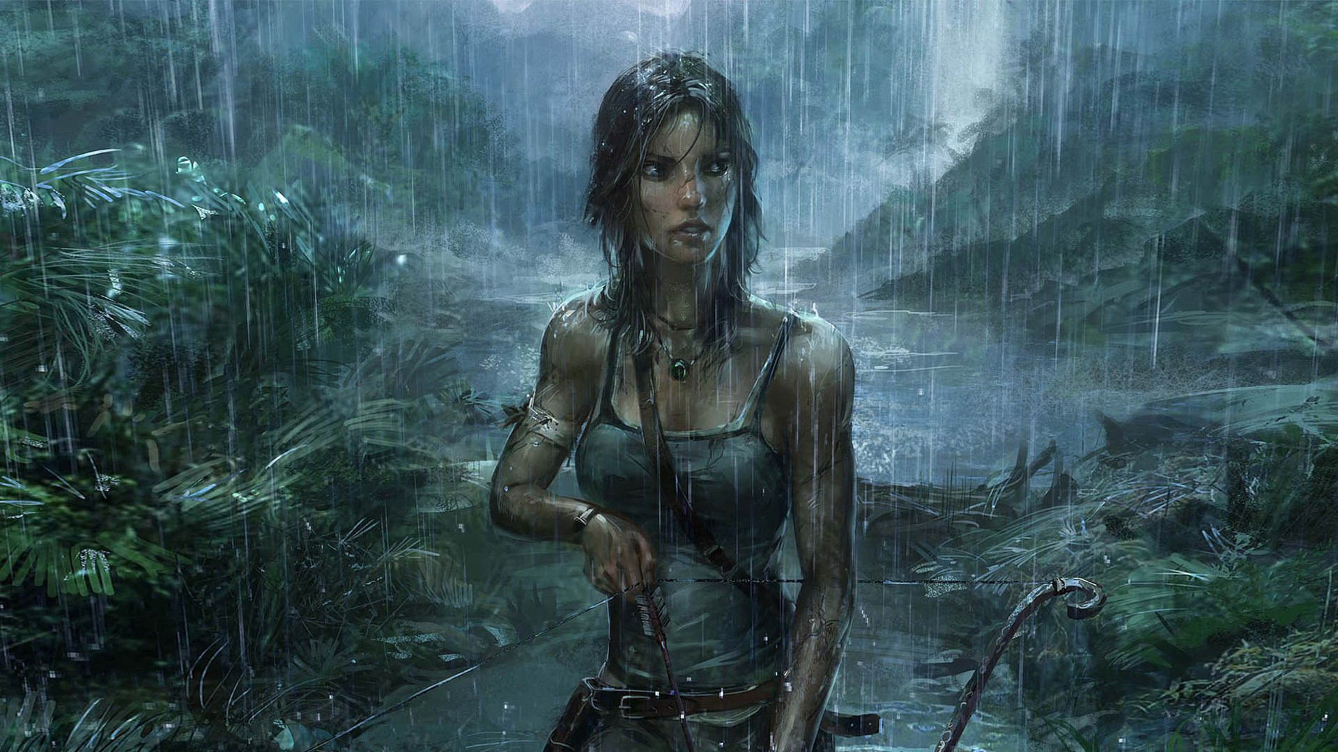 Desktop Wallpapers - Tomb Raider, Fan art - Games | Free Desktop Backgrounds 1920x1080
