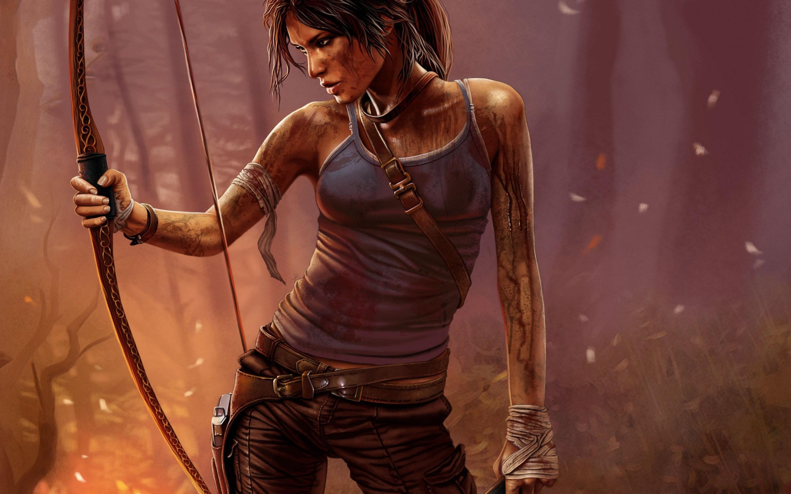 Tomb Raider Lara Croft Game Girl Art
