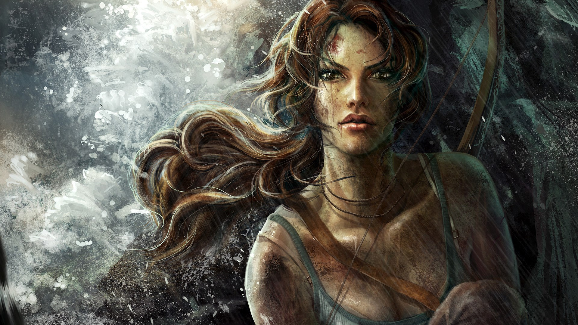 Tomb Raider Lara Croft Game Girl Artwork