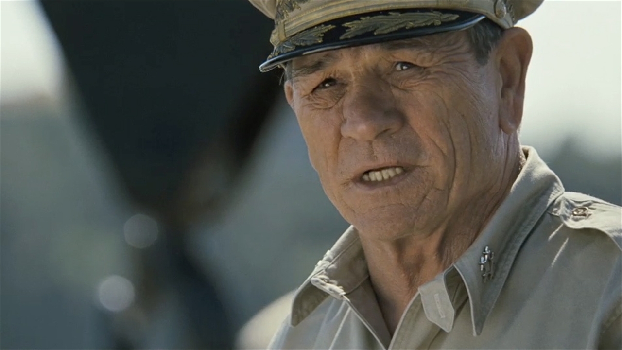 ... Tommy Lee Jones (3:28) Tommy Lee Jones talks World War II Movie Emperor ...