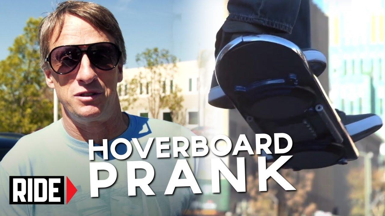 HUVr Tech - Tony Hawk Reveals Hoverboard Prank