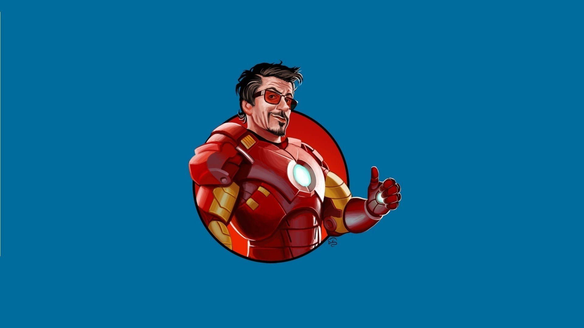 Tony Stark Iron Man Funny Art