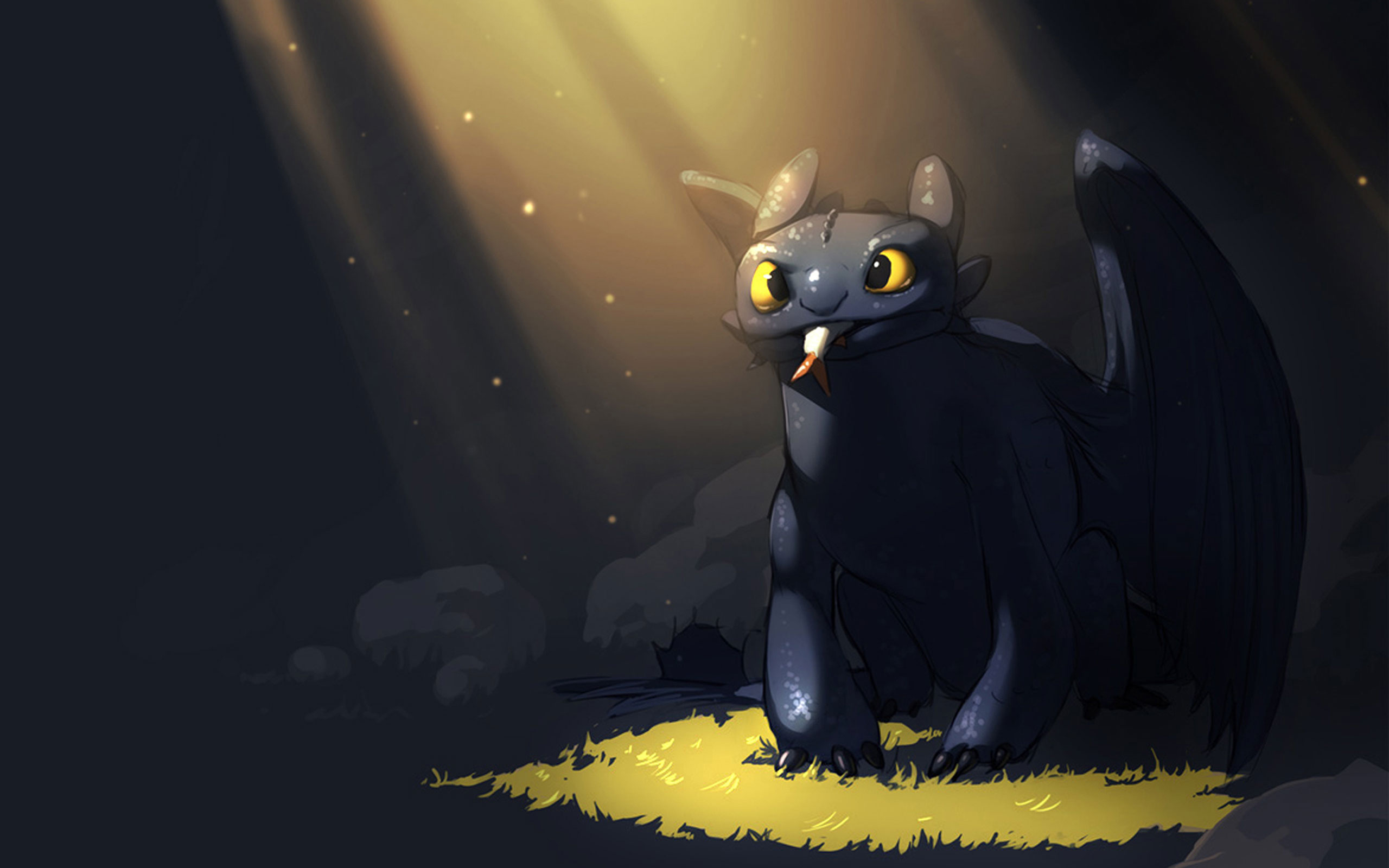 Toothless Dragon Wallpaper