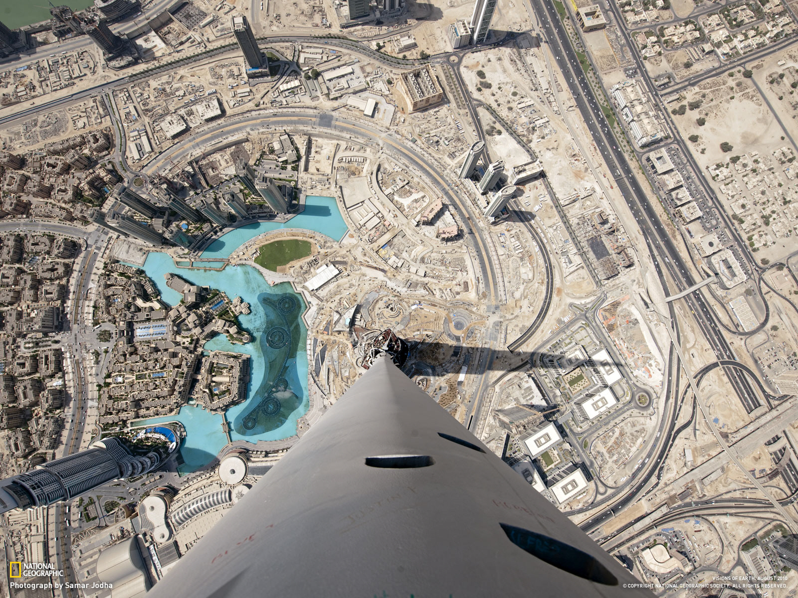 Photo from the top of Burj Khalifa skyscraper in Dubai | Another Part of Me