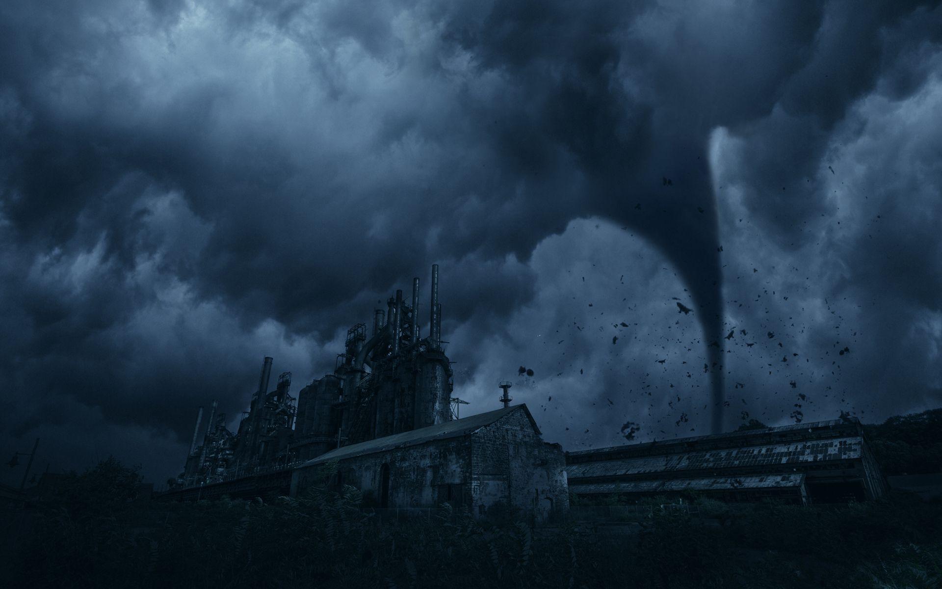 Tornado Fantasy Wallpaper