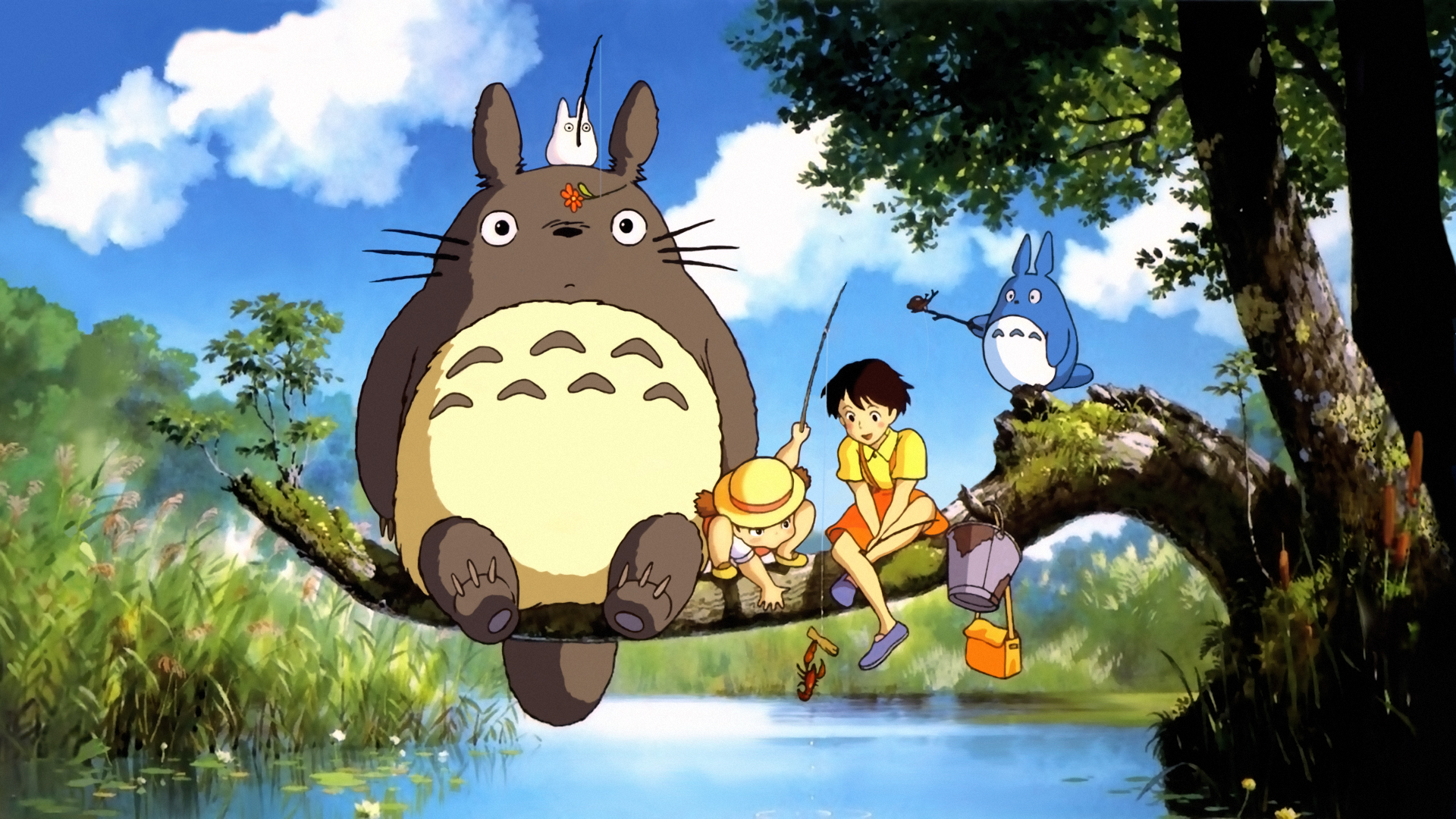 Tonari no Totoro Wallpaper 1 by ihateyouare