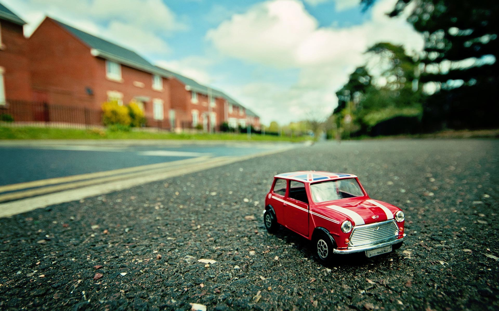 Toy Car Wallpaper