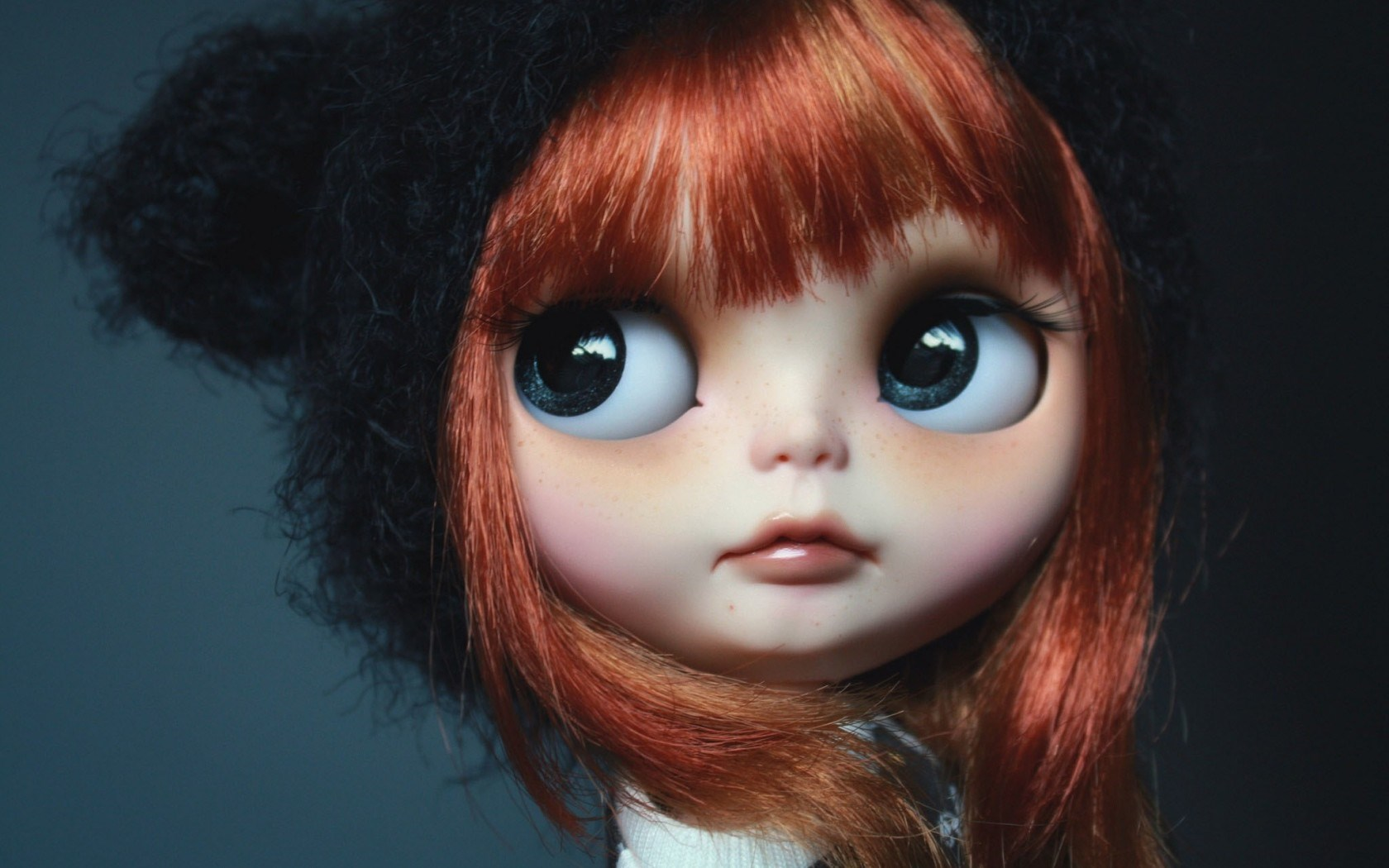 Toy Doll Red Hair Wallpaper