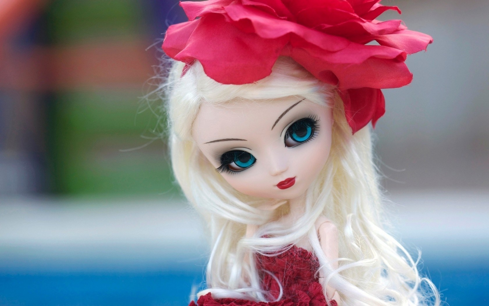 Doll Toy Look Flower