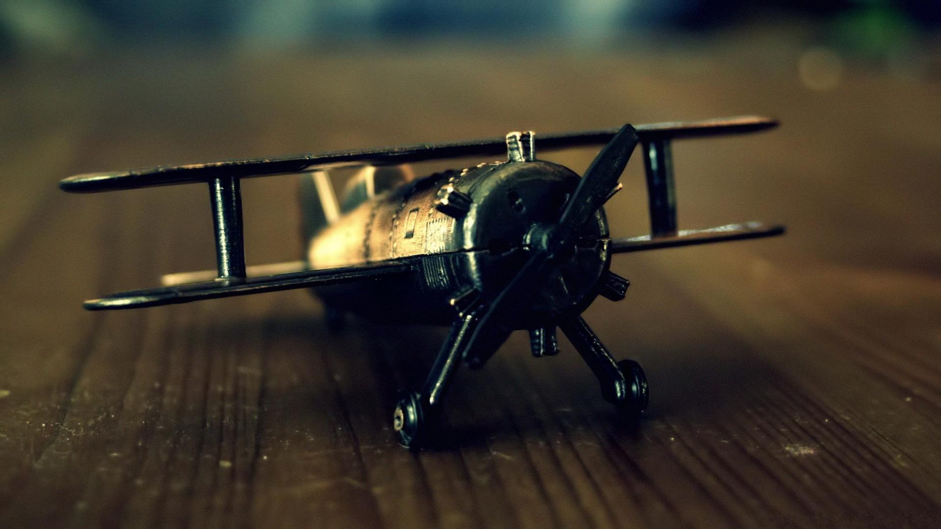 Toy Plane Wallpaper