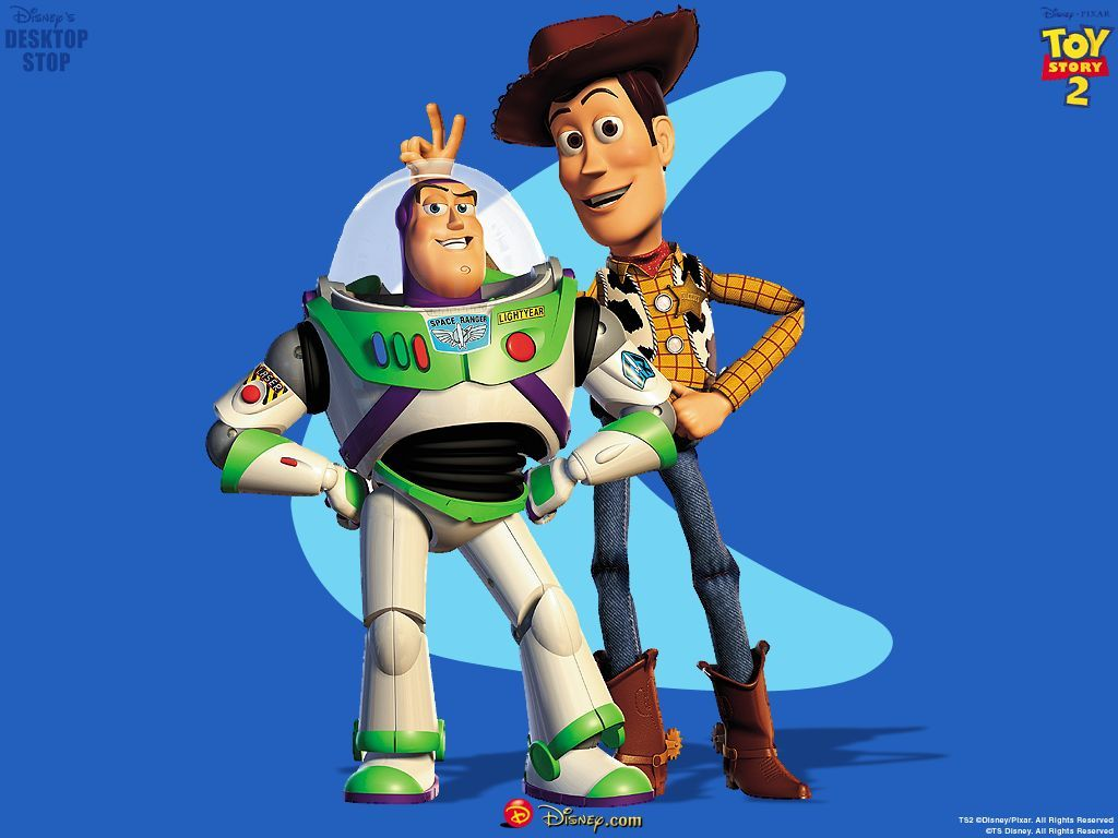 """Toy Story 2"" desktop wallpaper number 2 (1024 x 768 pixels)"