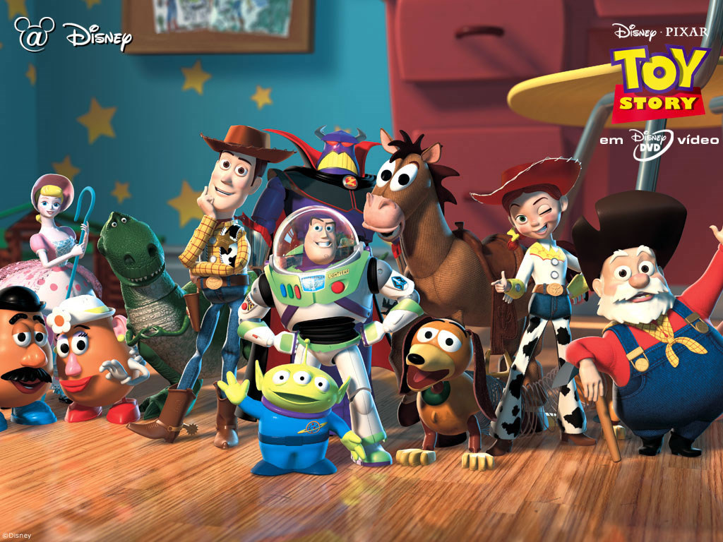 Cartoons Wallpaper: Toy Story