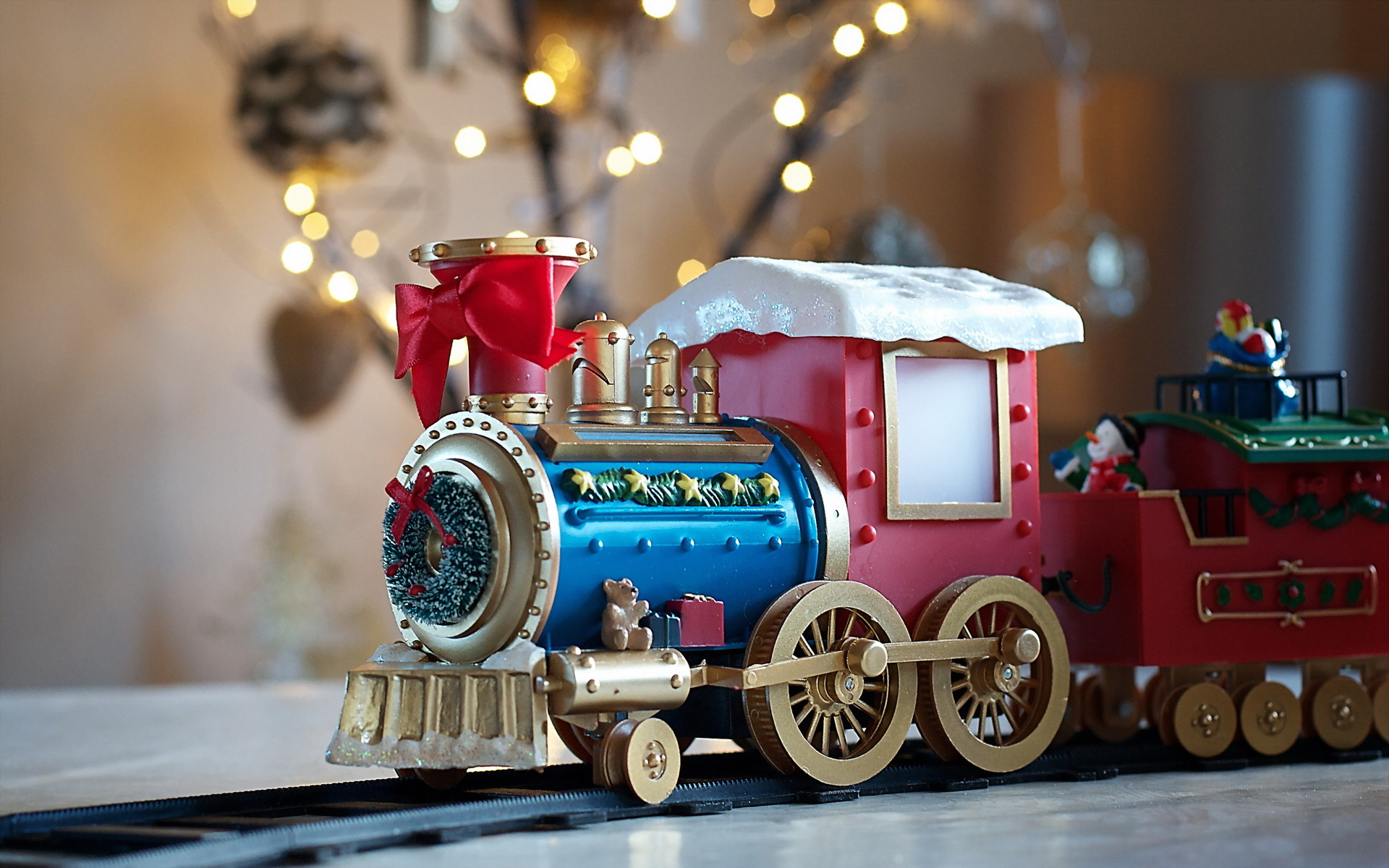 Toy train gift
