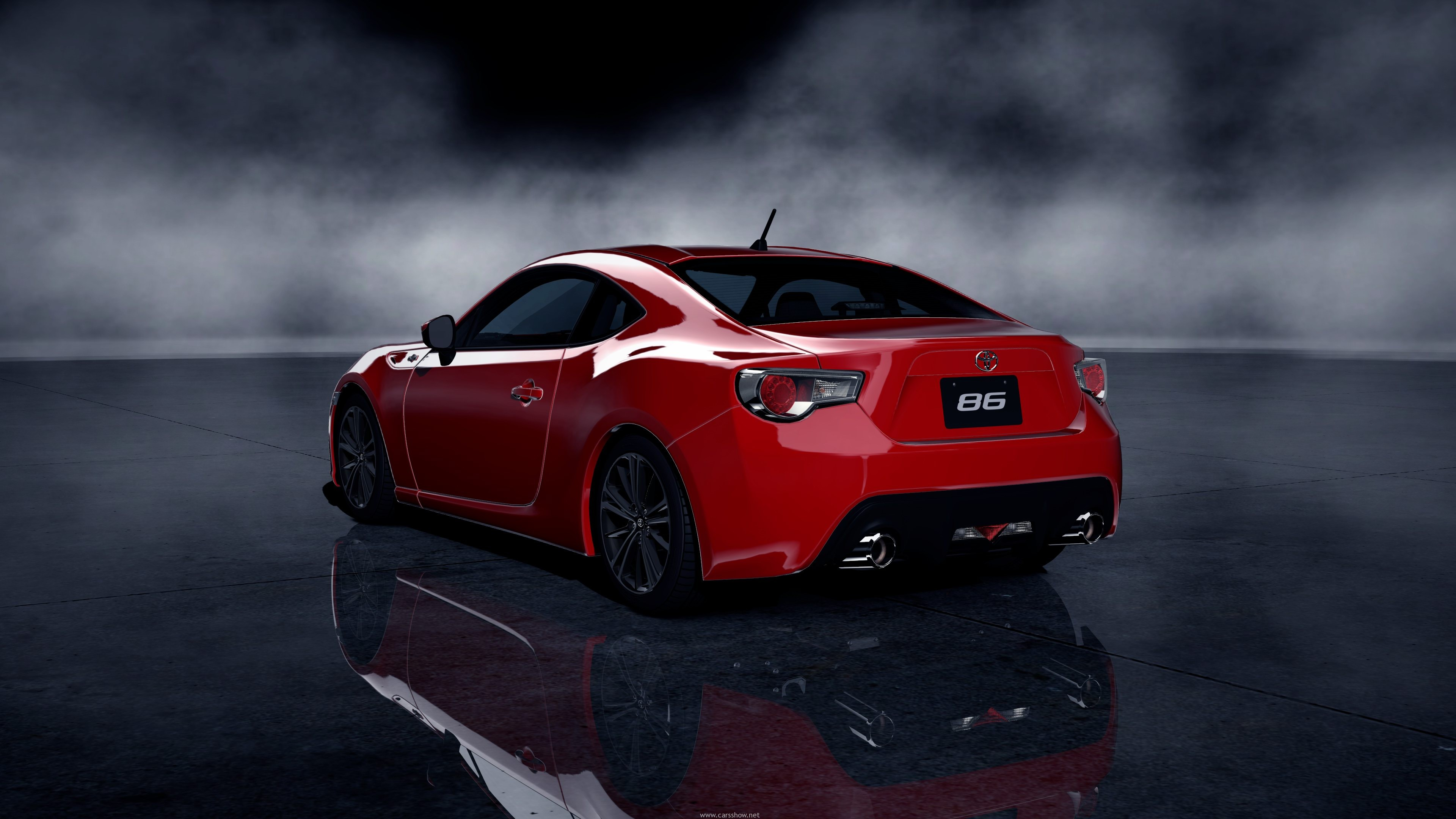 2012 Toyota GT 86 Red - Download Wallpaper