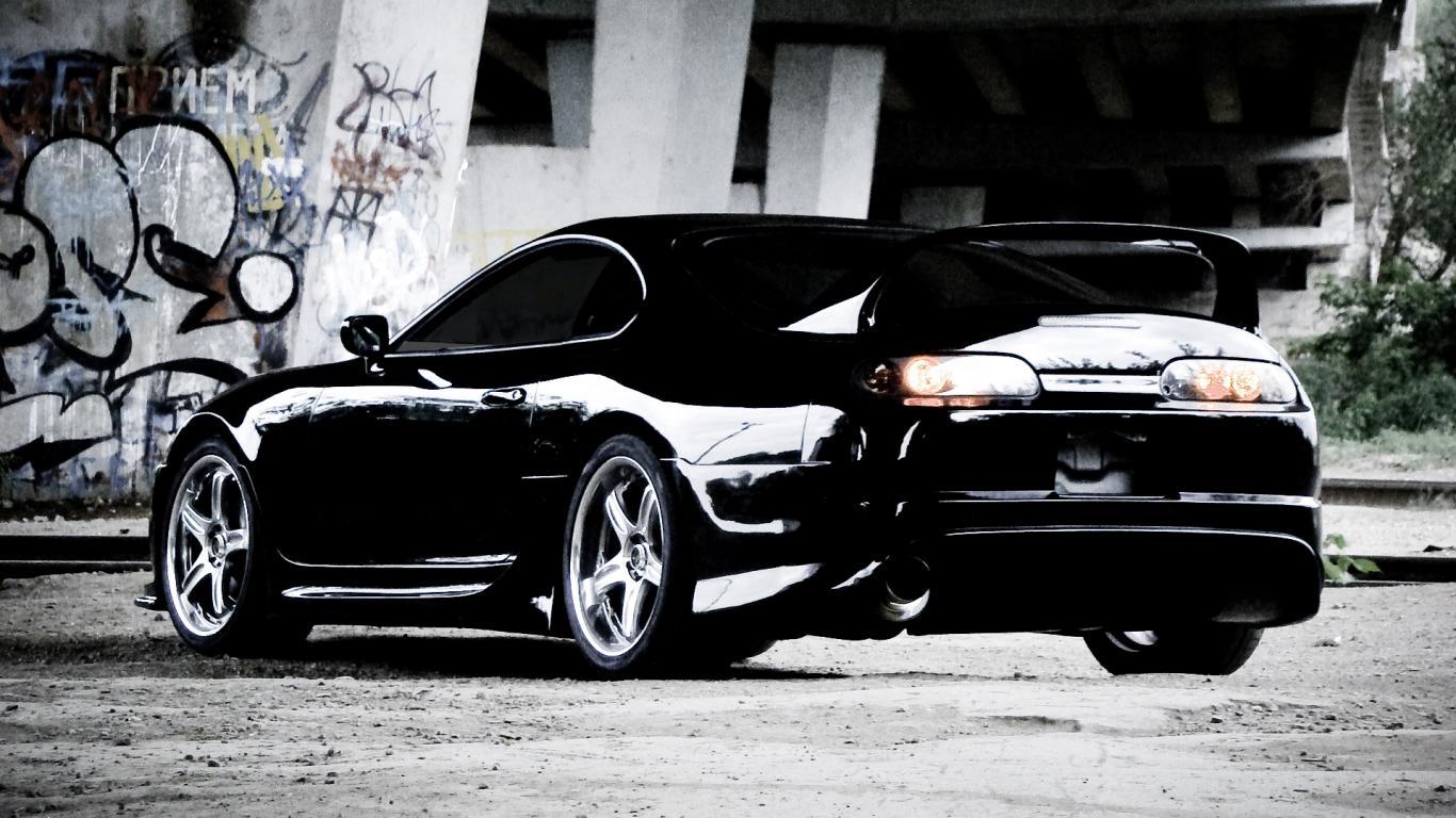 Toyota Supra Wallpaper 1366x768 60894