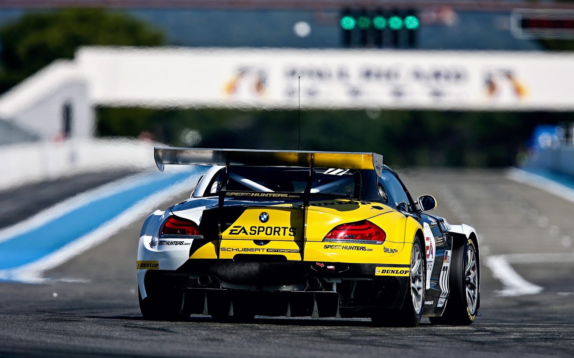 Inspired Racing Car Wallpaper