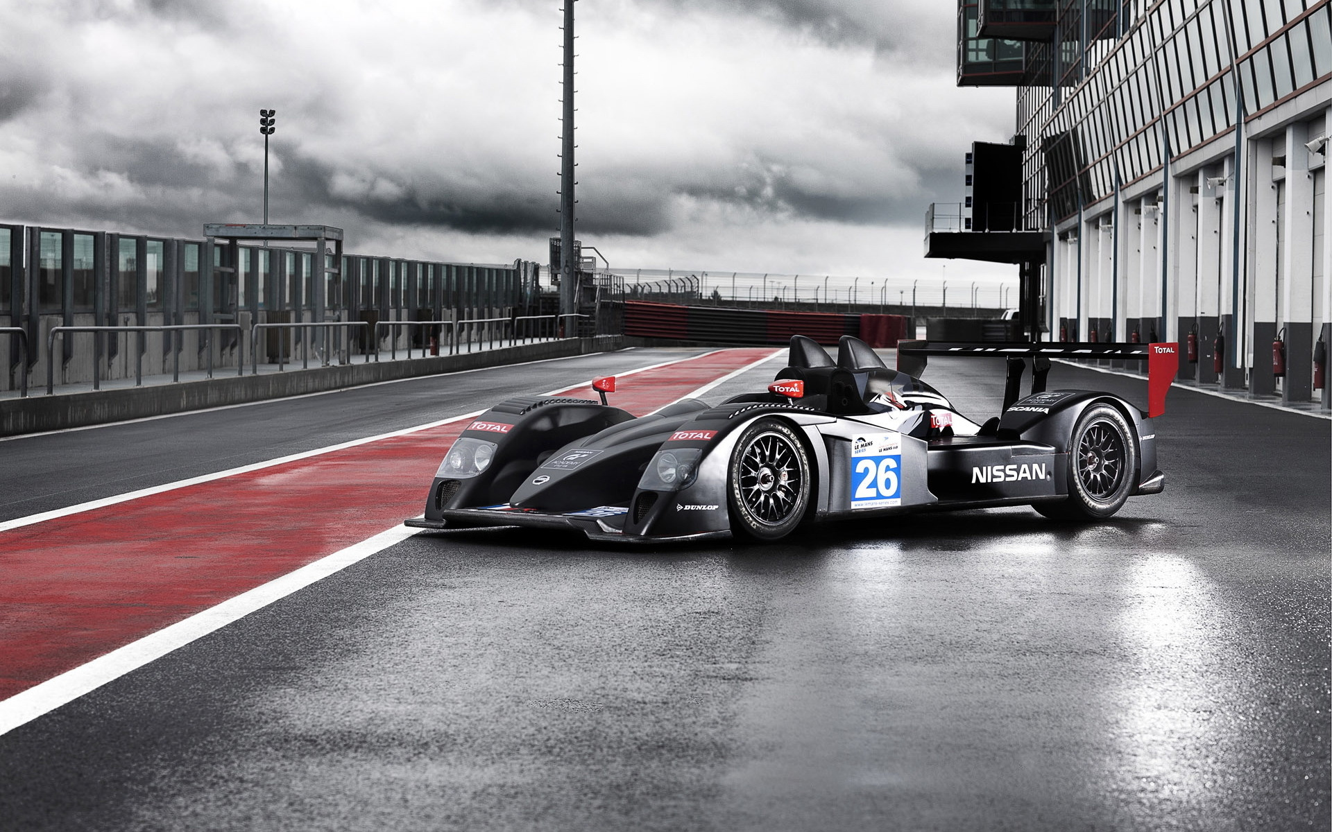 Signatech Nissan LMP2 racing race cars track wallpaper background