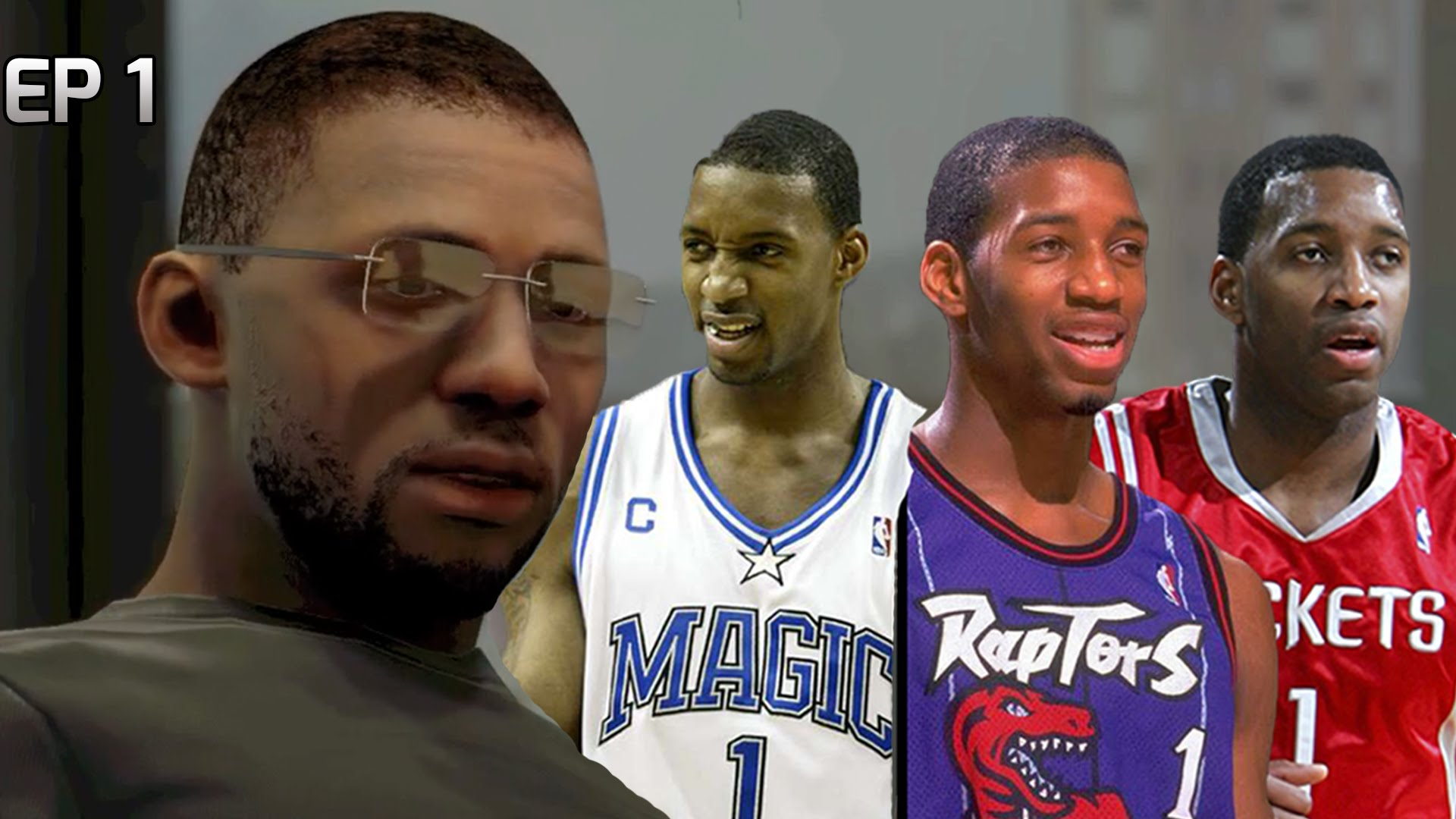 NBA 2K15 My Career - Tracy McGrady Ep 1 - Creation & Tryout.